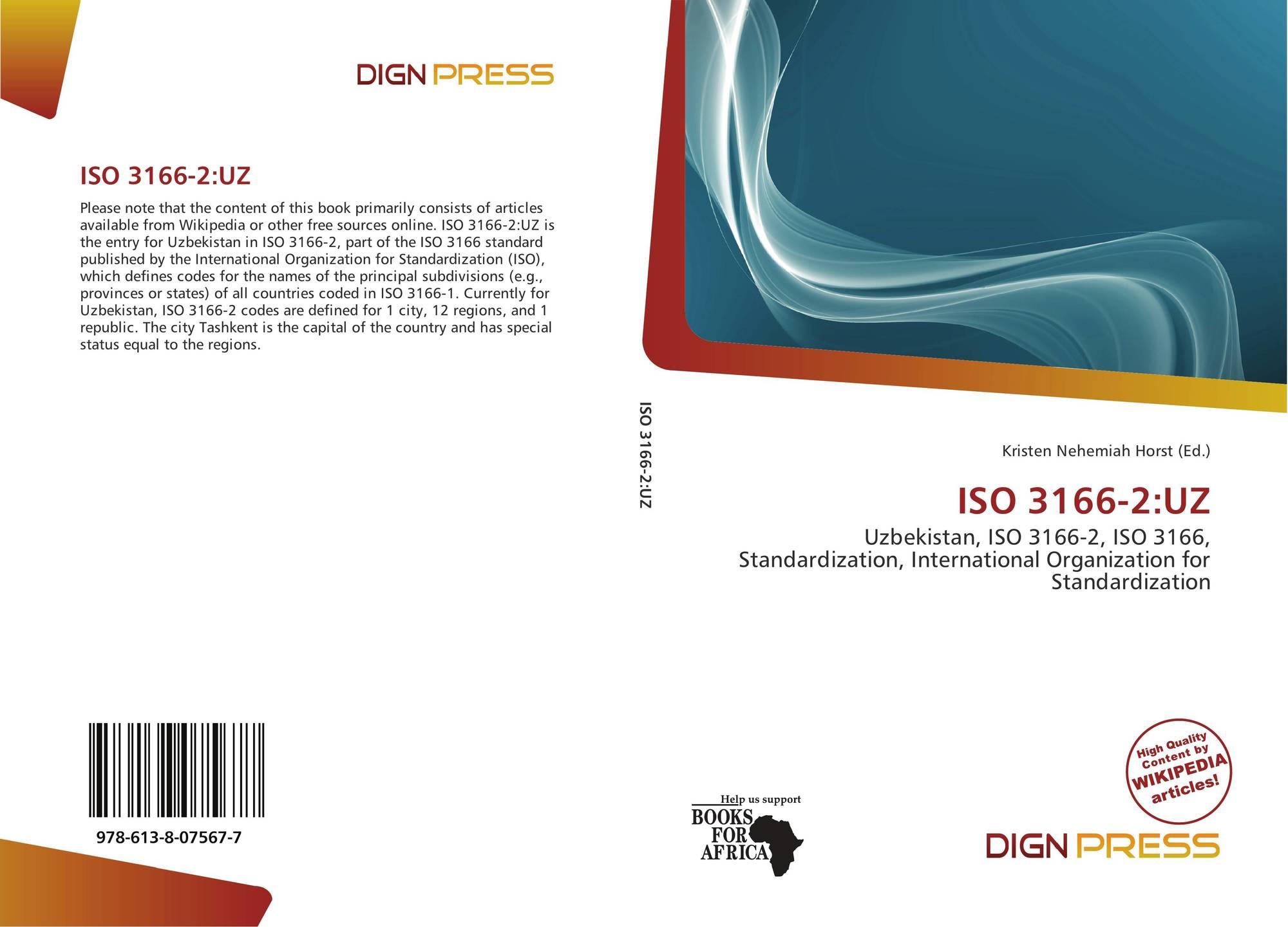 ISO 3166-2:UZ, 978-613-8-07567...