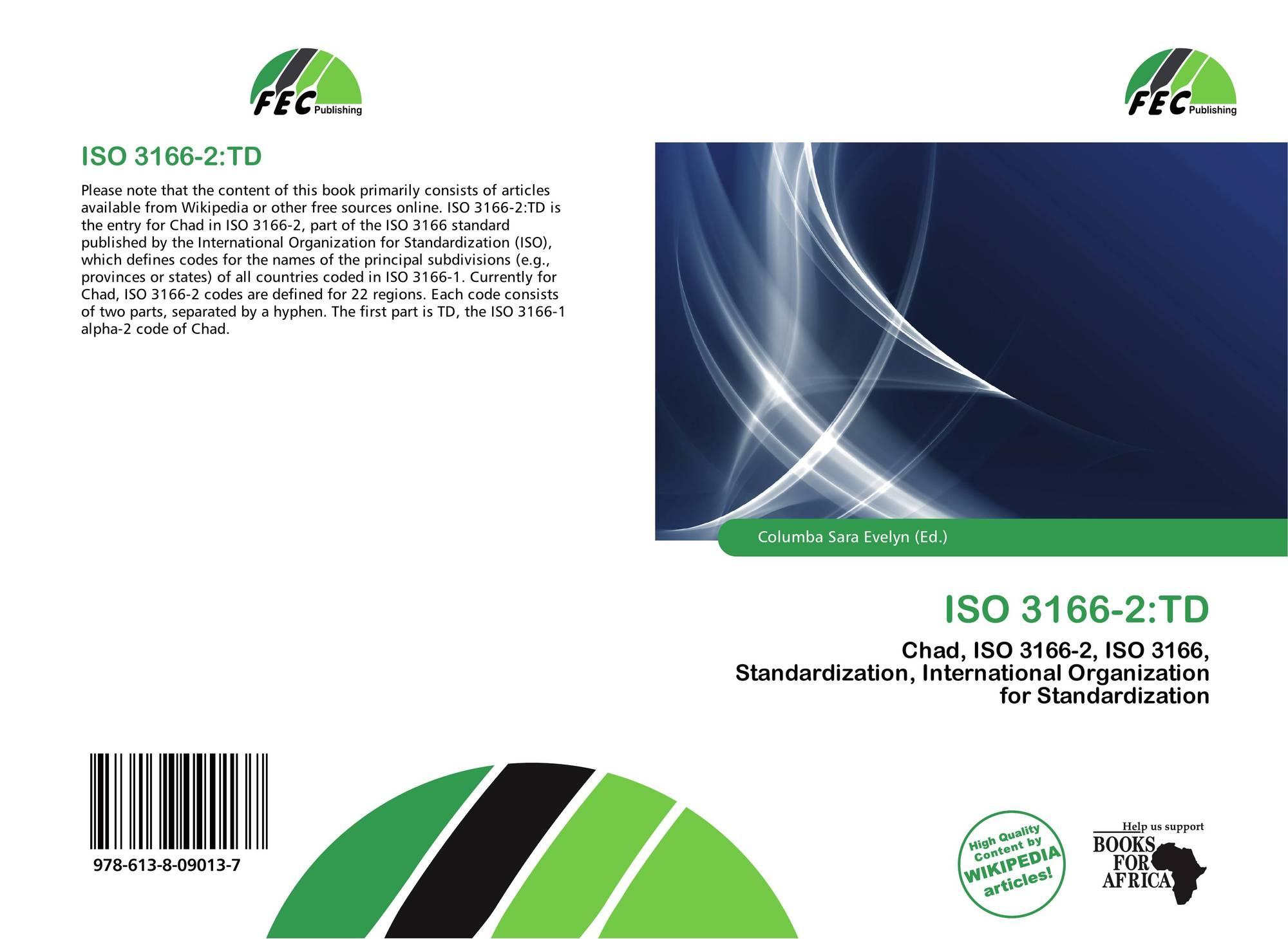 ISO 3166-2:TD, 978-613-8-09013...