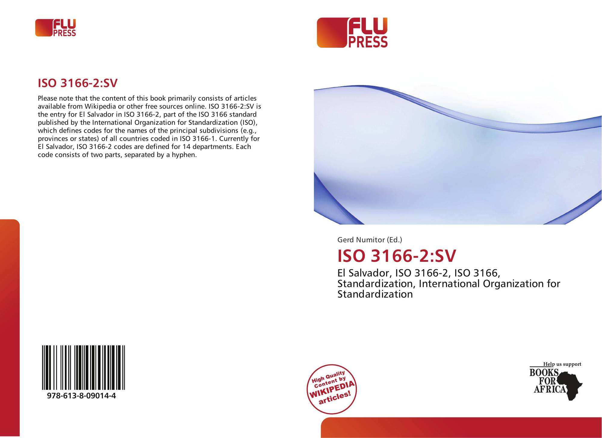 ISO 3166-2:SV, 978-613-8-09014...
