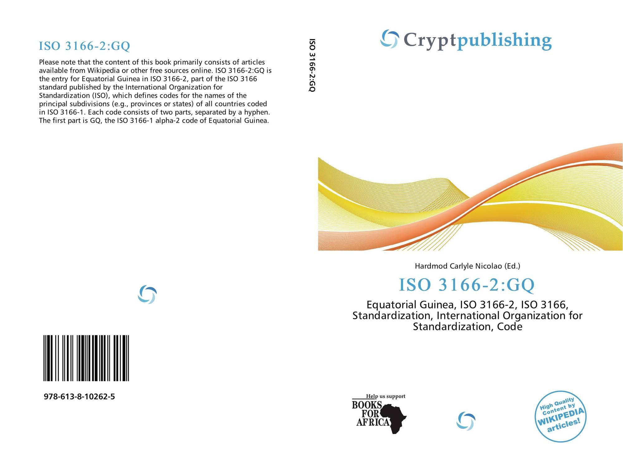 ISO 3166-2:GQ, 978-613-8-10262-5, 6138102622 ,9786138102625