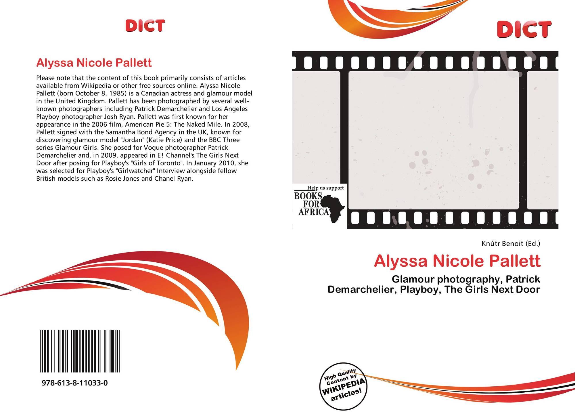 Alyssa Nicole Pallett Canada