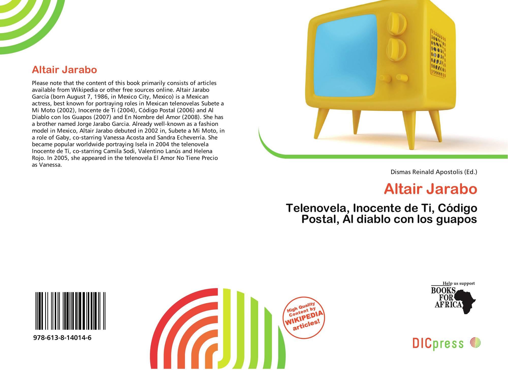 Altair Jarabo Wikipedia altair jarabo, 978-613-8-14014-6, 6138140141 ,9786138140146