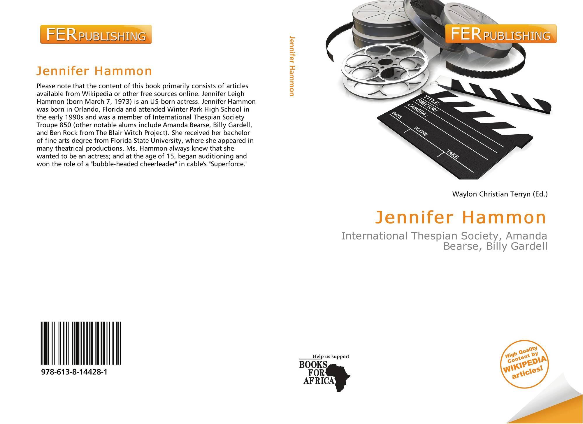 Jennifer Leigh Hammon jennifer hammon, 978-613-8-14428-1, 6138144287 ,9786138144281
