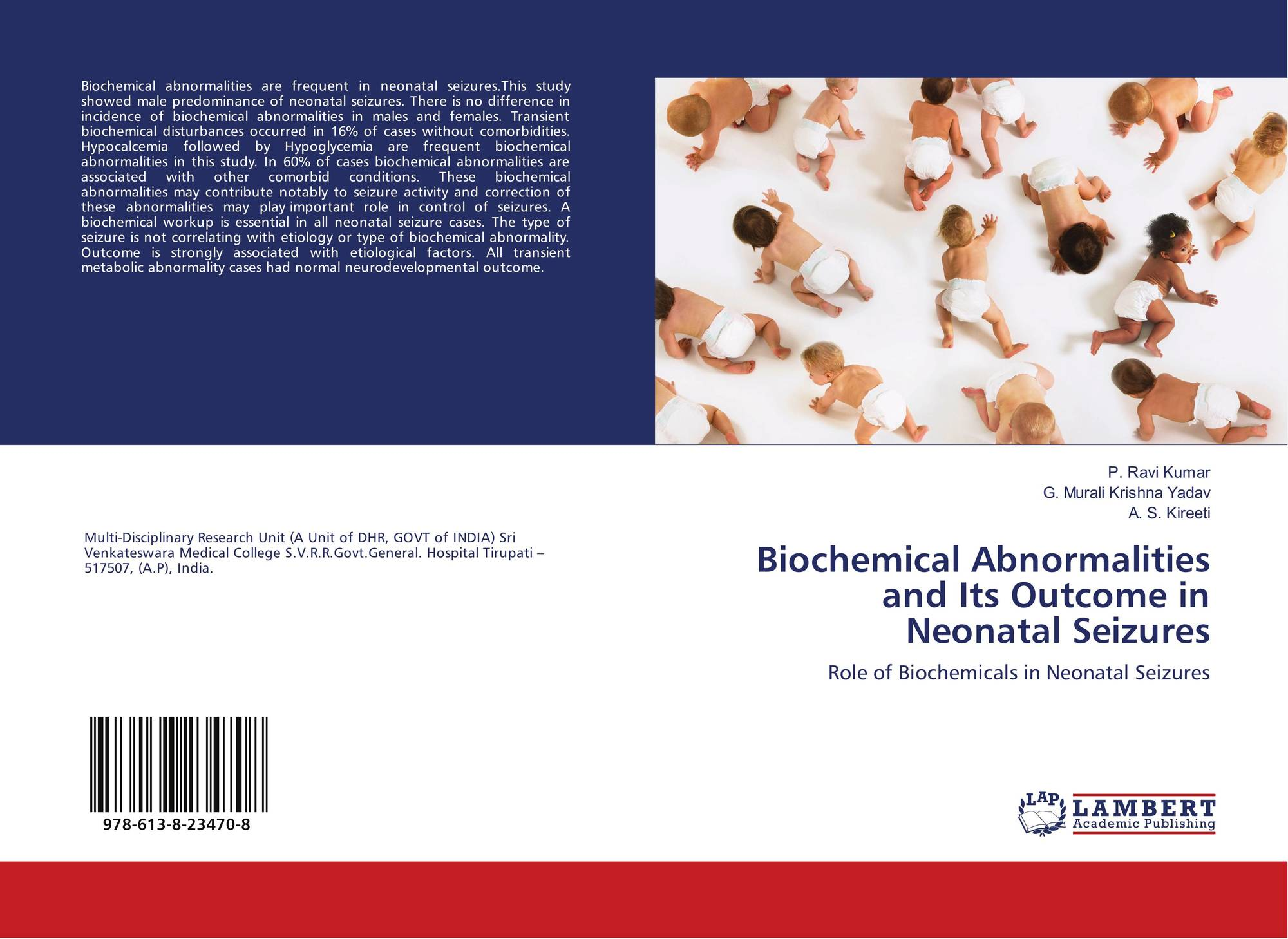 Biochemical abnormalities and its outcome in neonatal seizures 978 9786138234708 fandeluxe Image collections