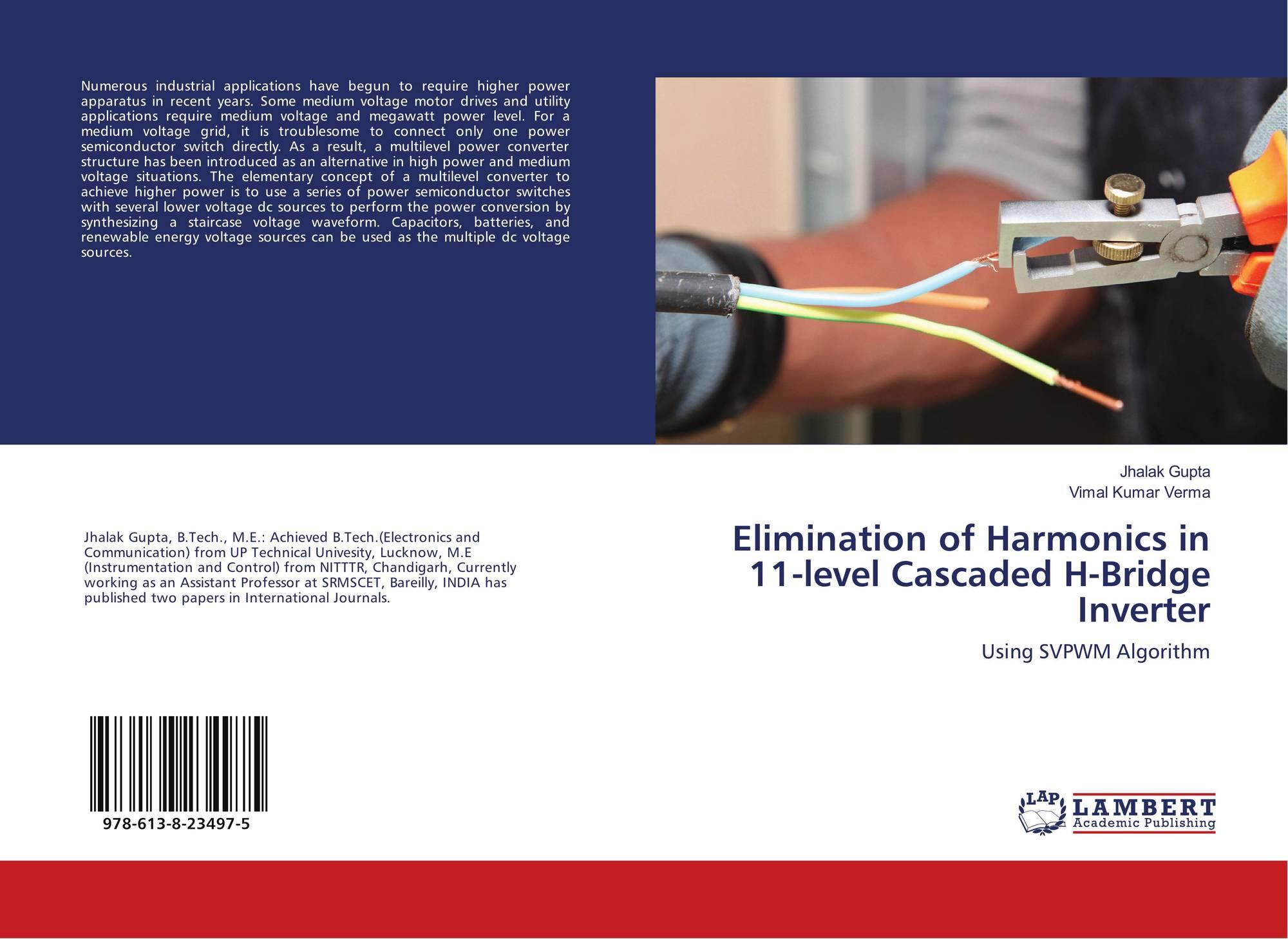 Elimination of Harmonics in 11-level Cascaded H-Bridge Inverter, 978