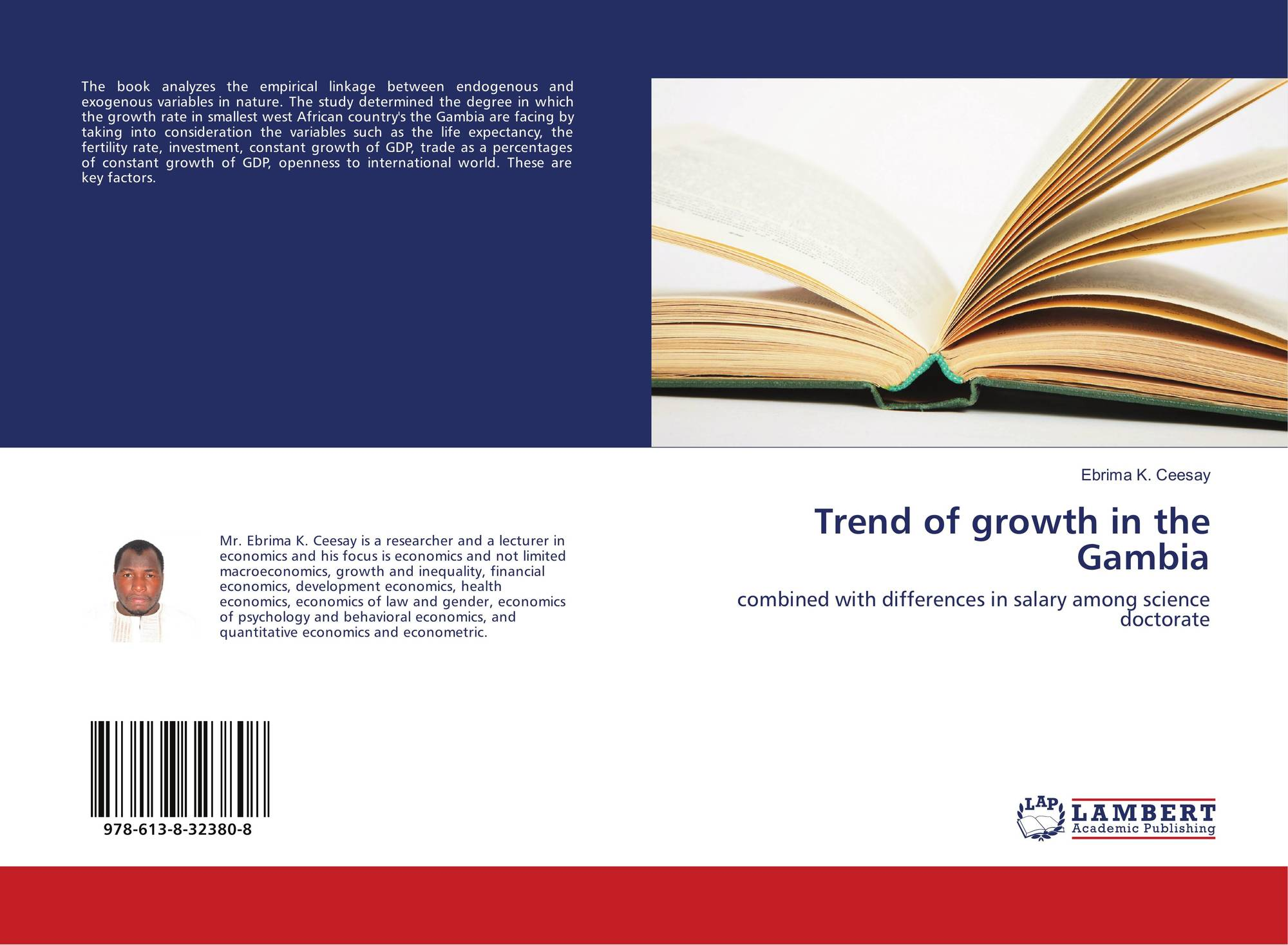 Trend of growth in the Gambia, 978-613-8-32380-8, 6138323807