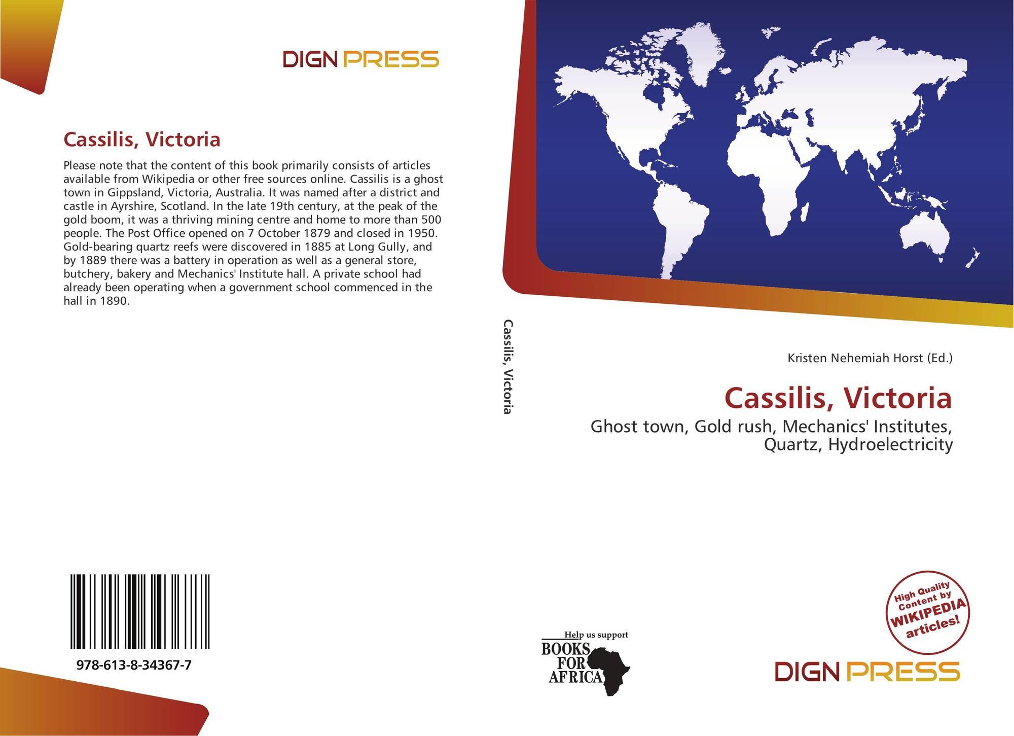 Cassilis, Victoria, 978-613-8-34367-7, 6138343670 ,9786138343677