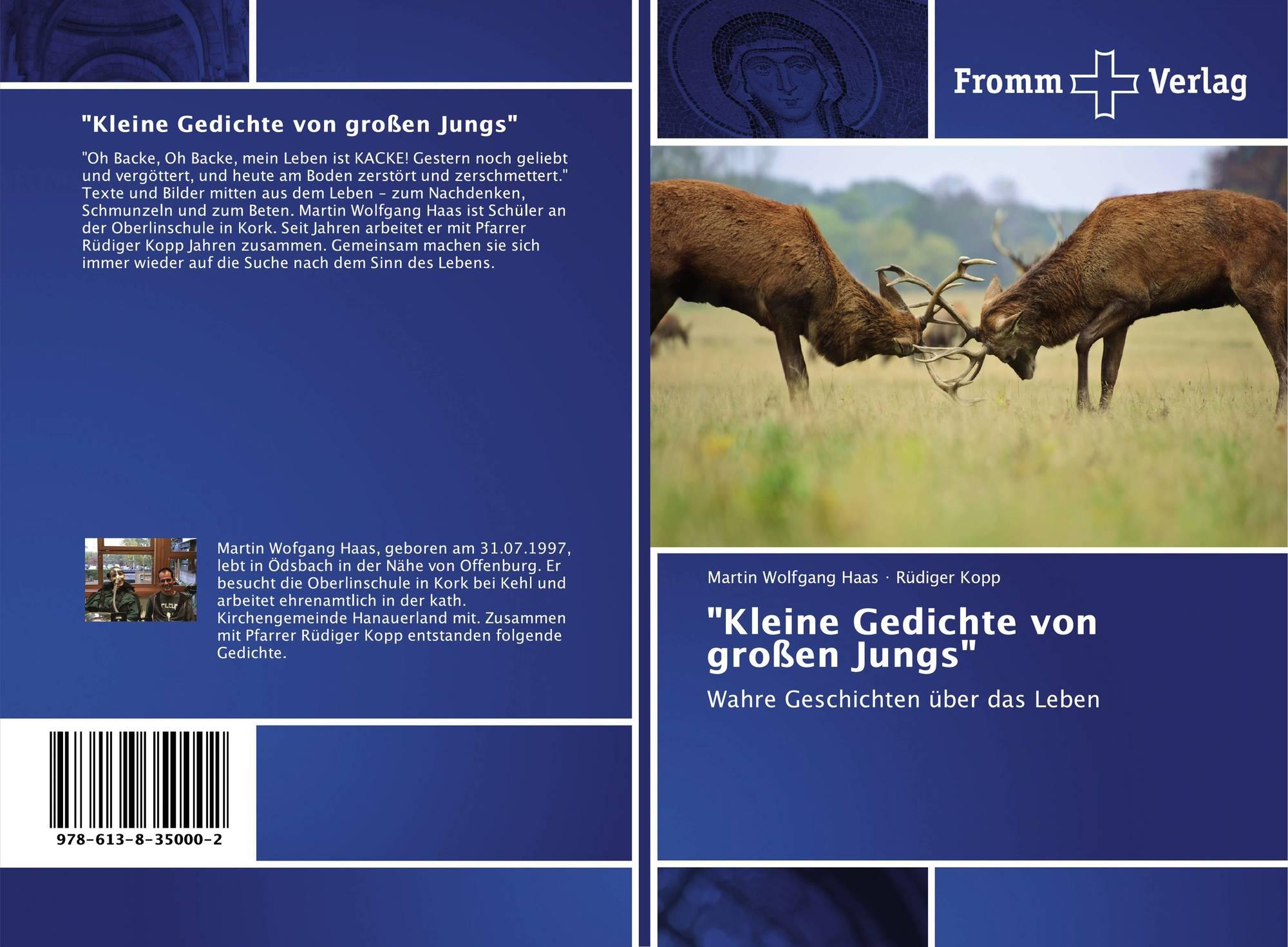 Kleine Gedichte Von Großen Jungs 978 613 8 35000 2