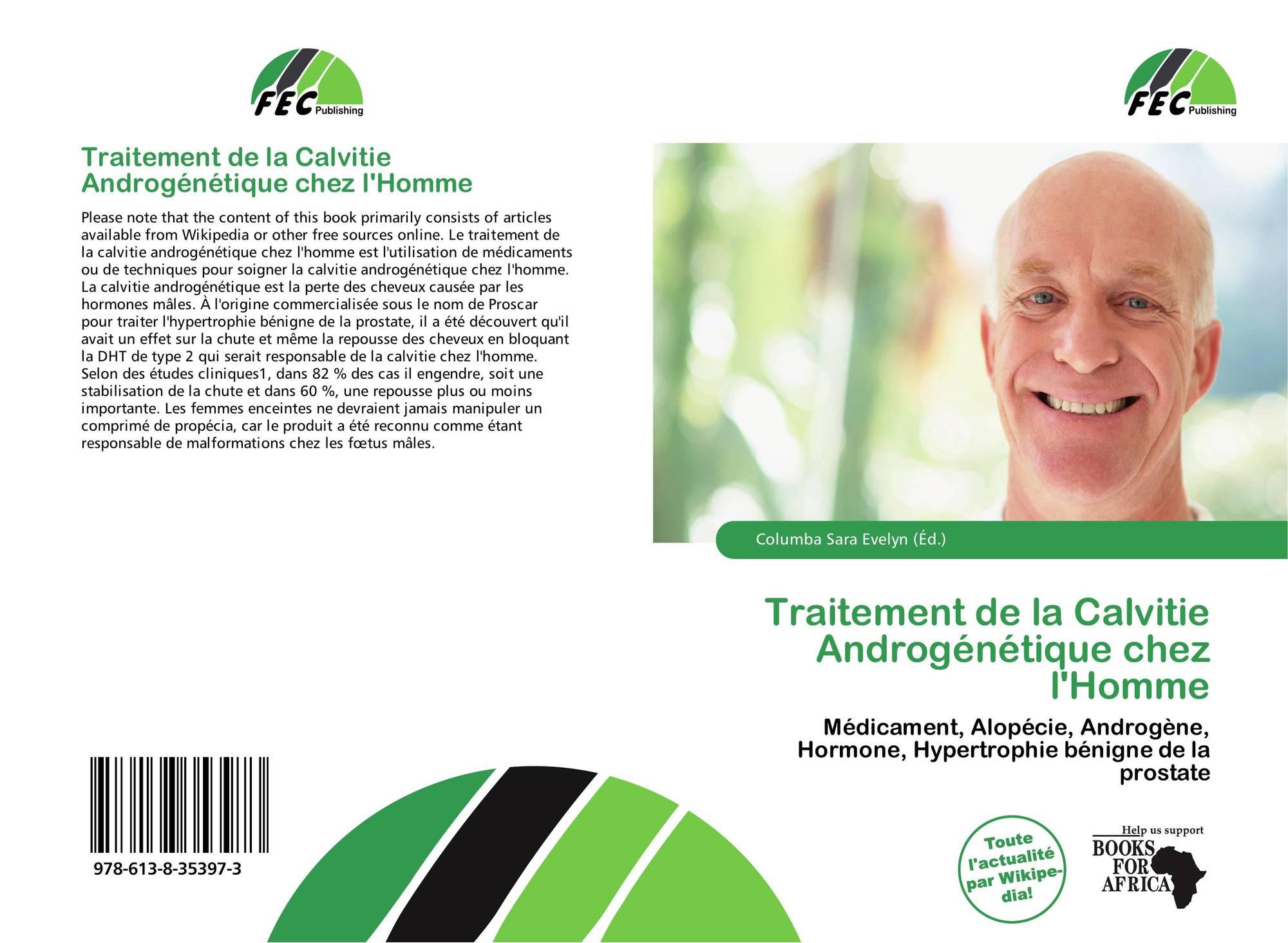 traitement de la calvitie androg n tique chez l 39 homme 978 613 8 35397 3 6138353978 9786138353973. Black Bedroom Furniture Sets. Home Design Ideas