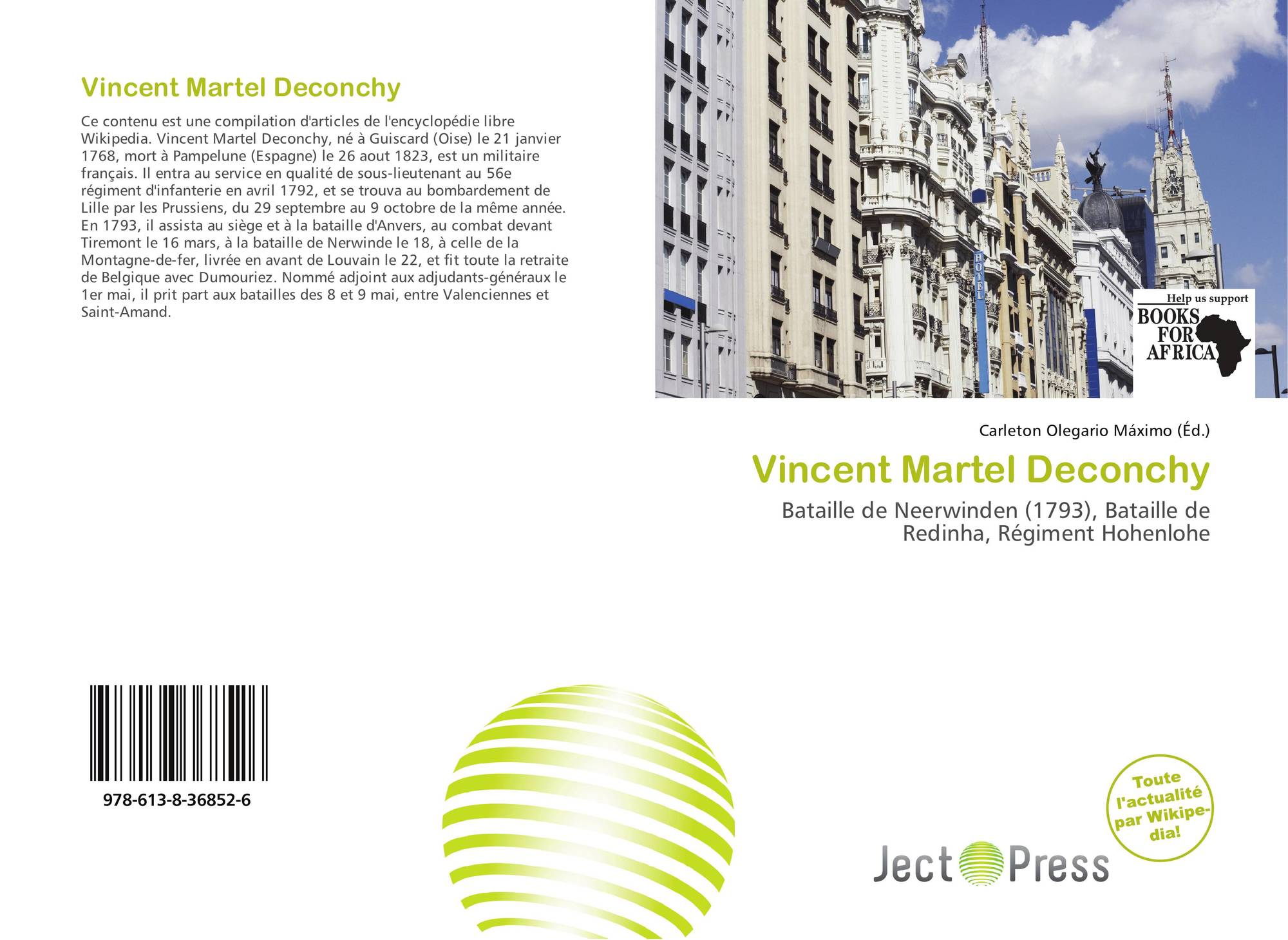 Bookcover of Vincent Martel Deconchy