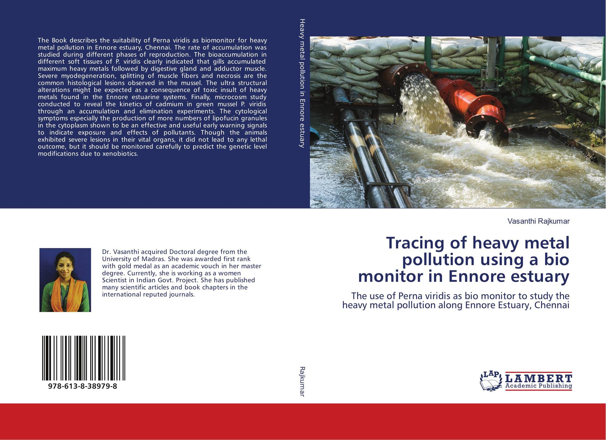 Tracing of heavy metal pollution using a bio monitor in Ennore