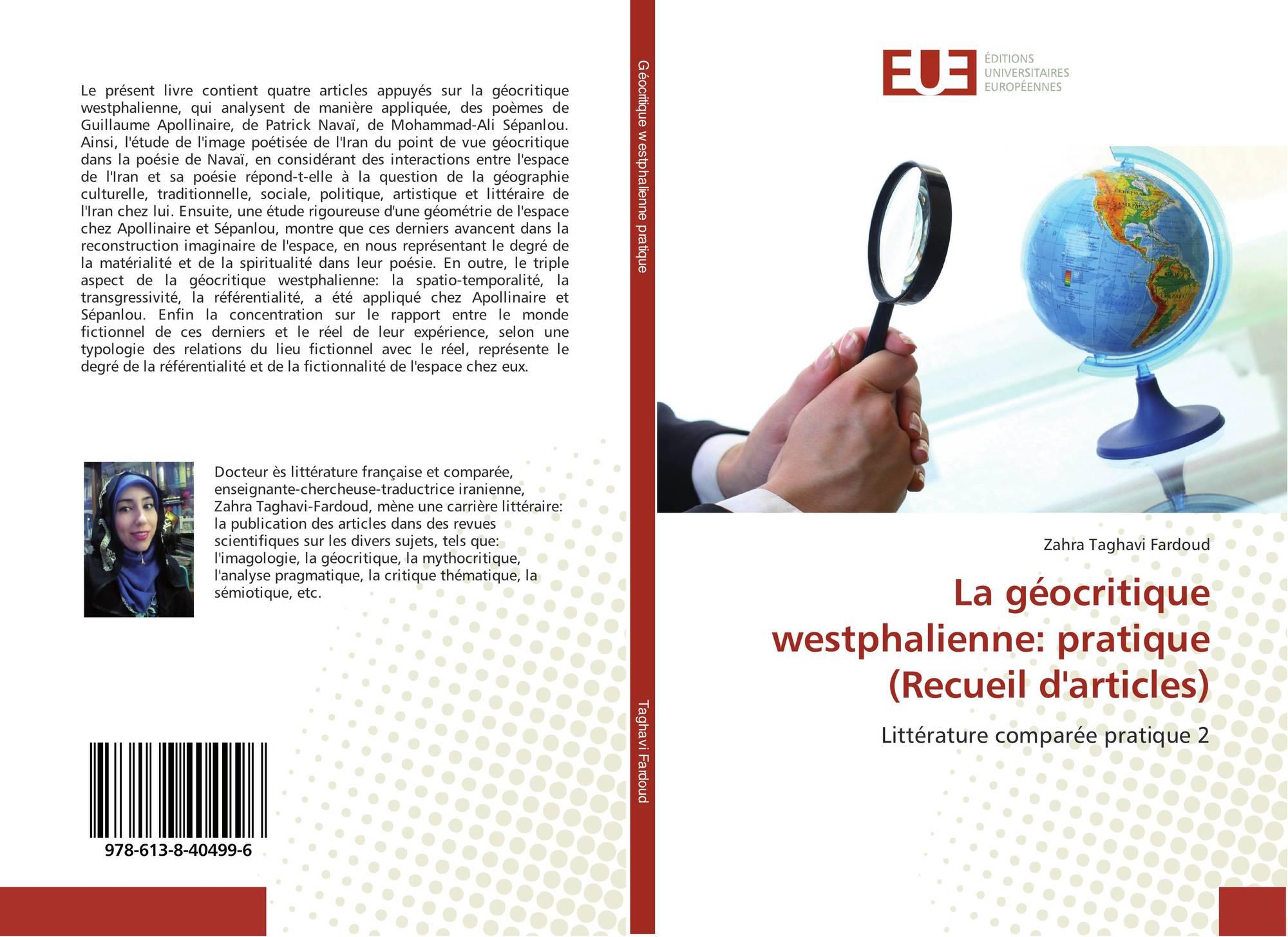 La Géocritique Westphalienne Pratique Recueil Darticles