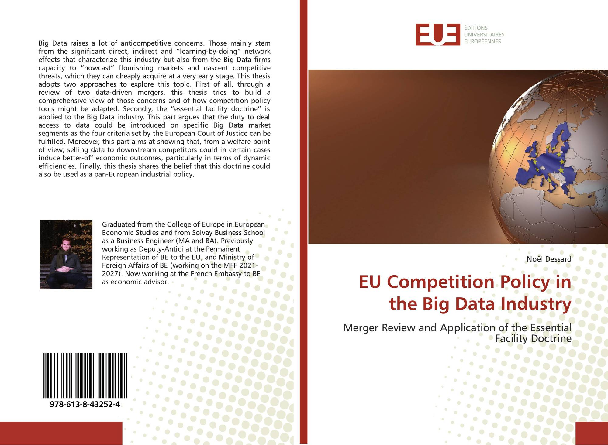 EU Competition Policy in the Big Data Industry, 978-613-8