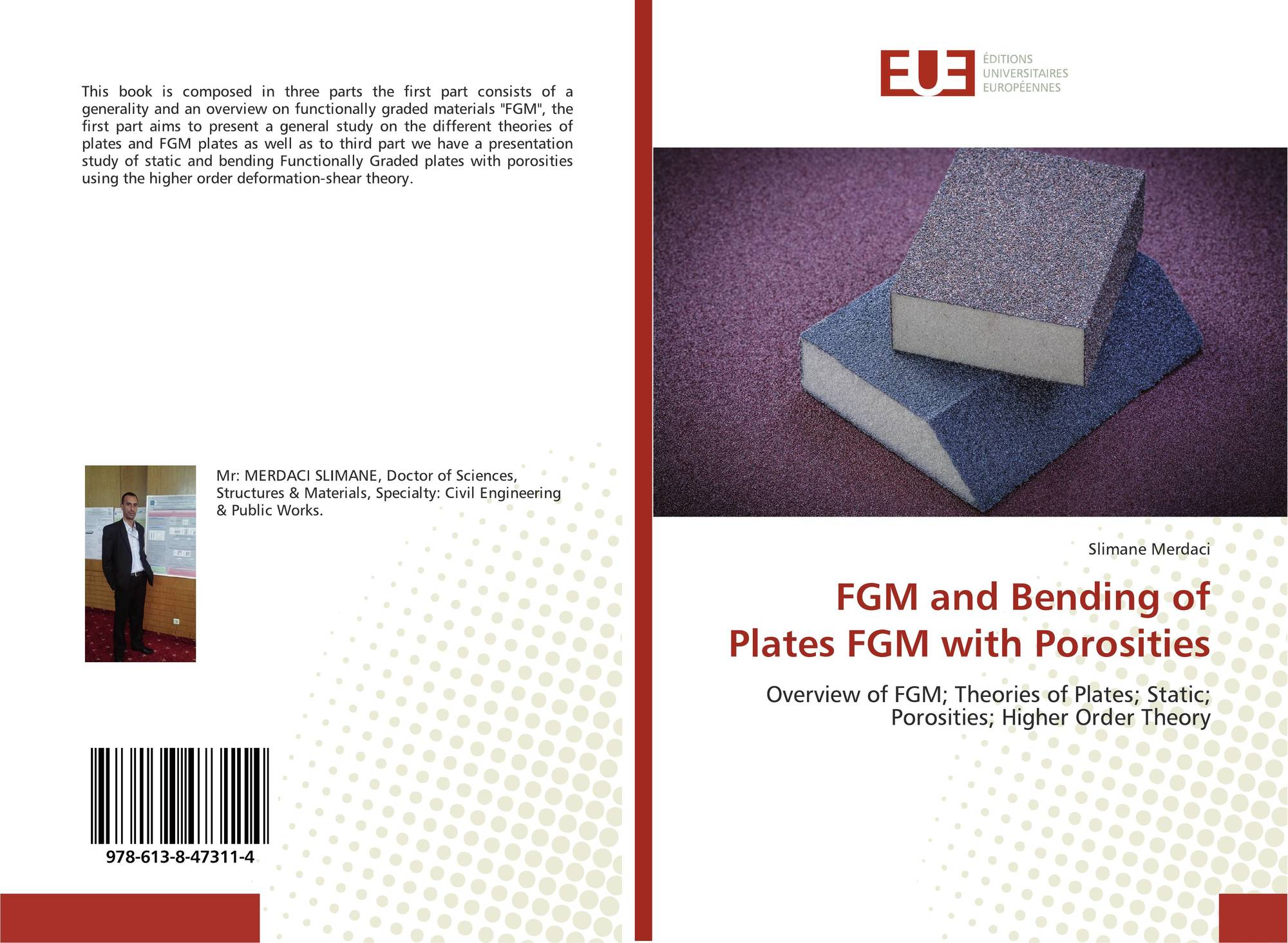 FGM and Bending of Plates FGM with Porosities, 978-613-8