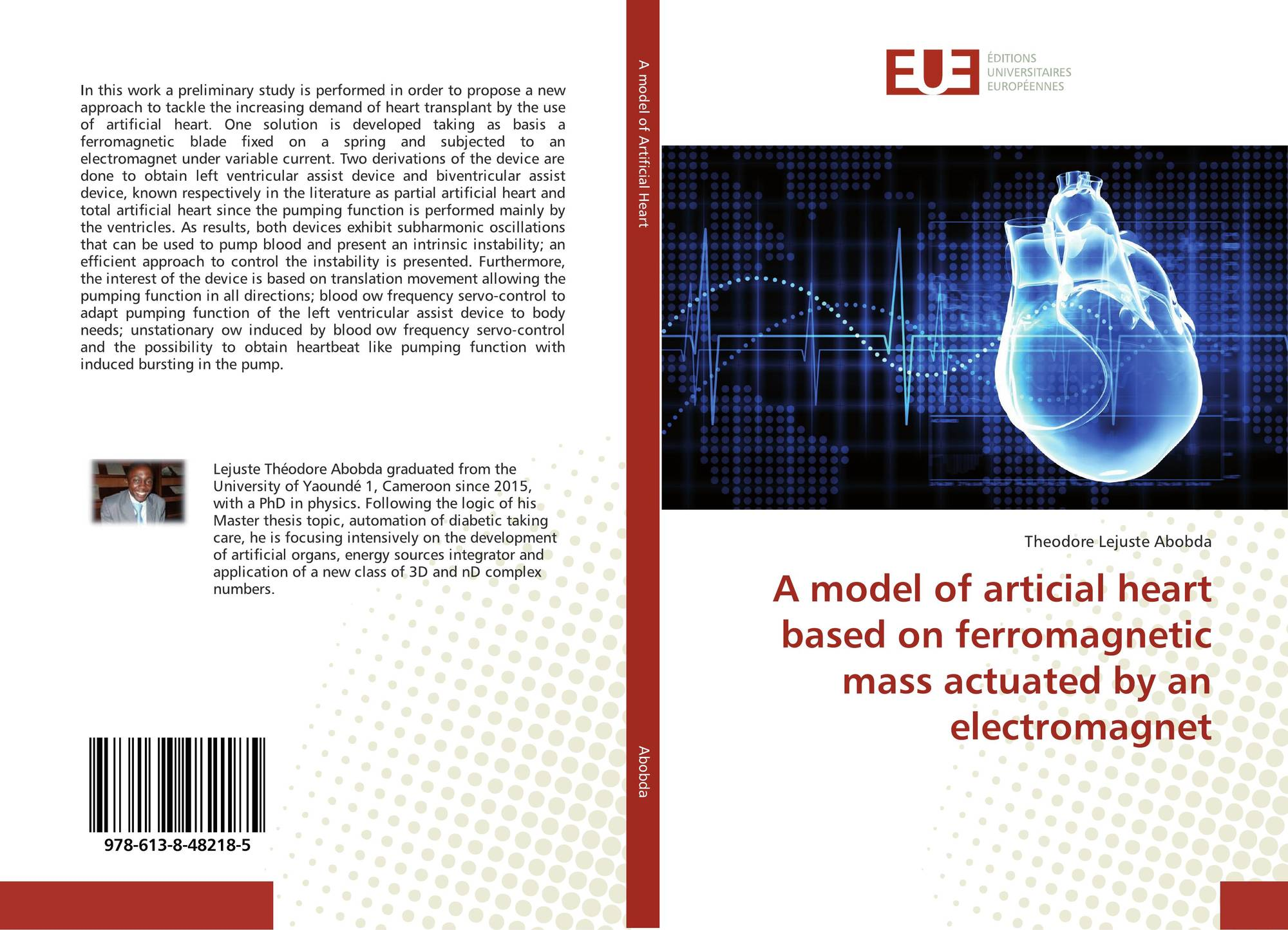 A model of articial heart based on ferromagnetic mass