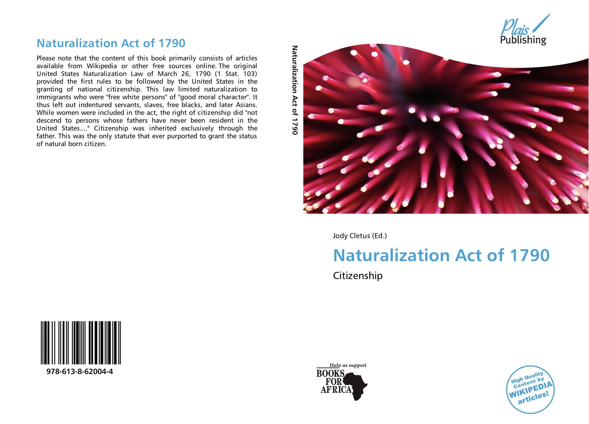 naturalization act of 1790 as an attempt to establish rules governing the naturalization of immigran Status as a natural-born citizen of the united states is one of the eligibility requirements established in the united states constitution for holding the office of president or vice president this requirement was intended to protect the nation from foreign influence the us constitution uses but does not define the phrase natural.
