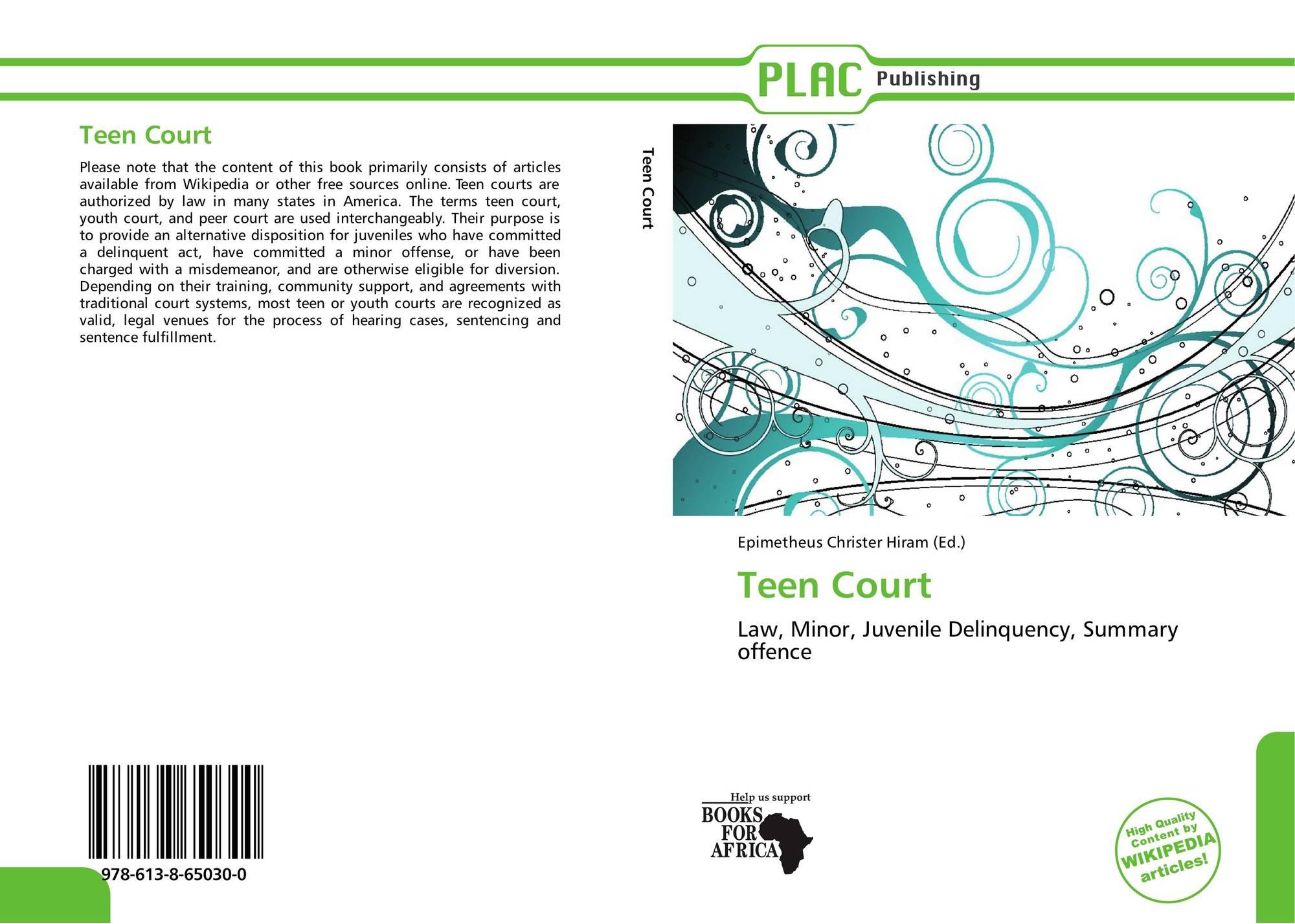 Court wikipedia teen court
