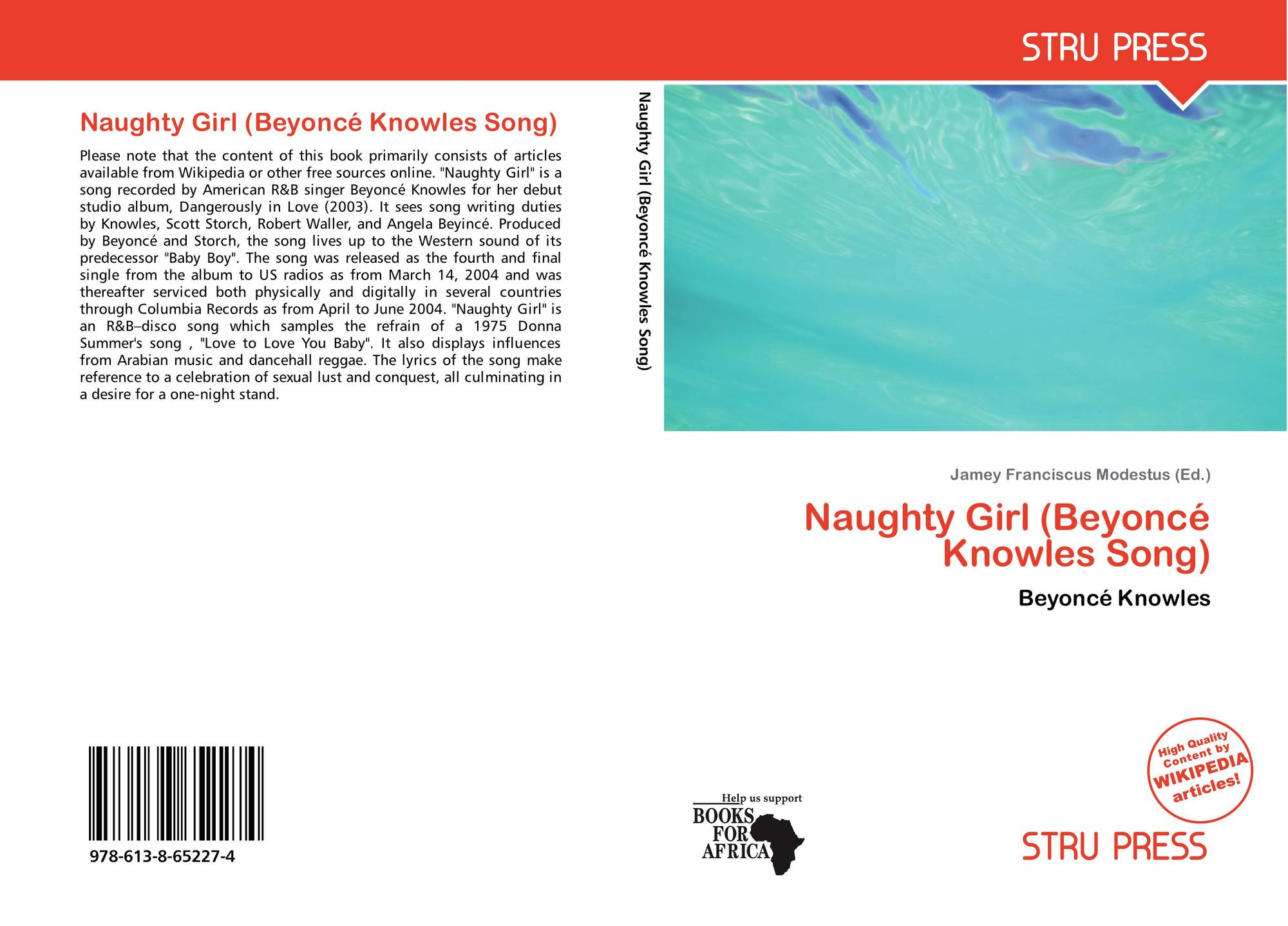 Naughty Girl (Beyoncé Knowles Song), 978-613-8-65227-4, 6138652274