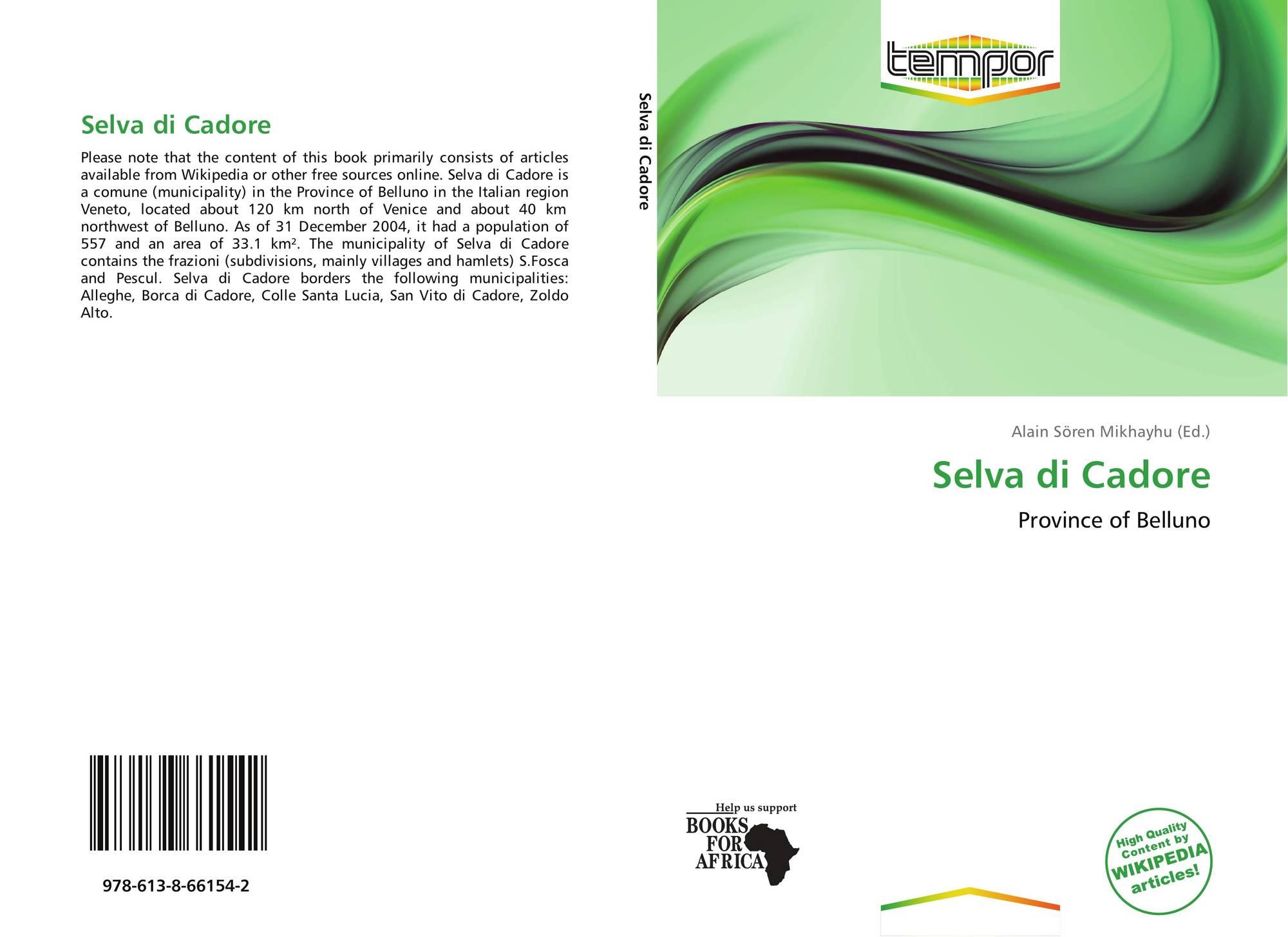 Borca Di Cadore Comune selva di cadore, 978-613-8-66154-2, 6138661540 ,9786138661542