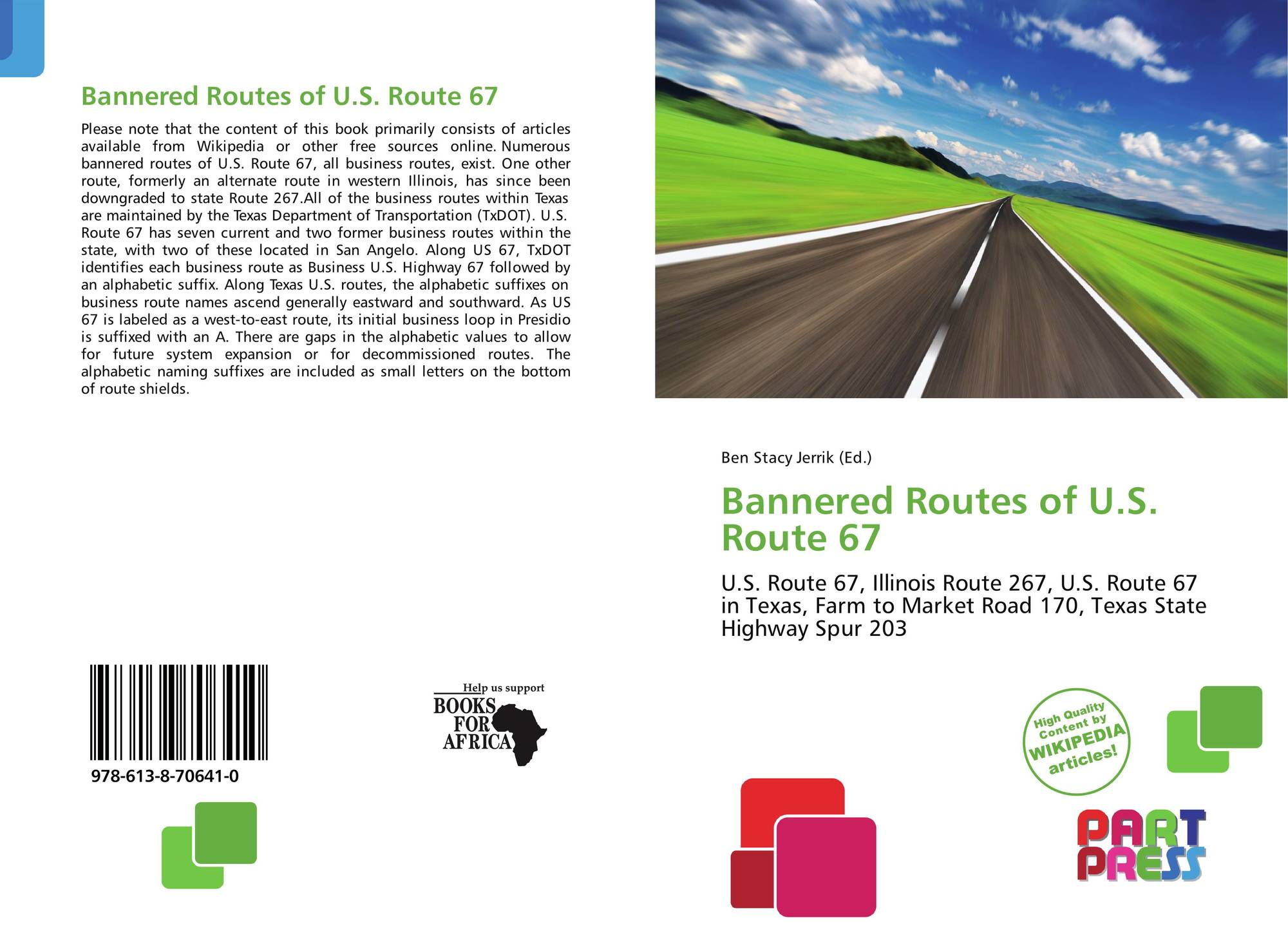 Bannered Routes of U.S. Route 67, 978-613-8-70641-0, 6138706412 ...