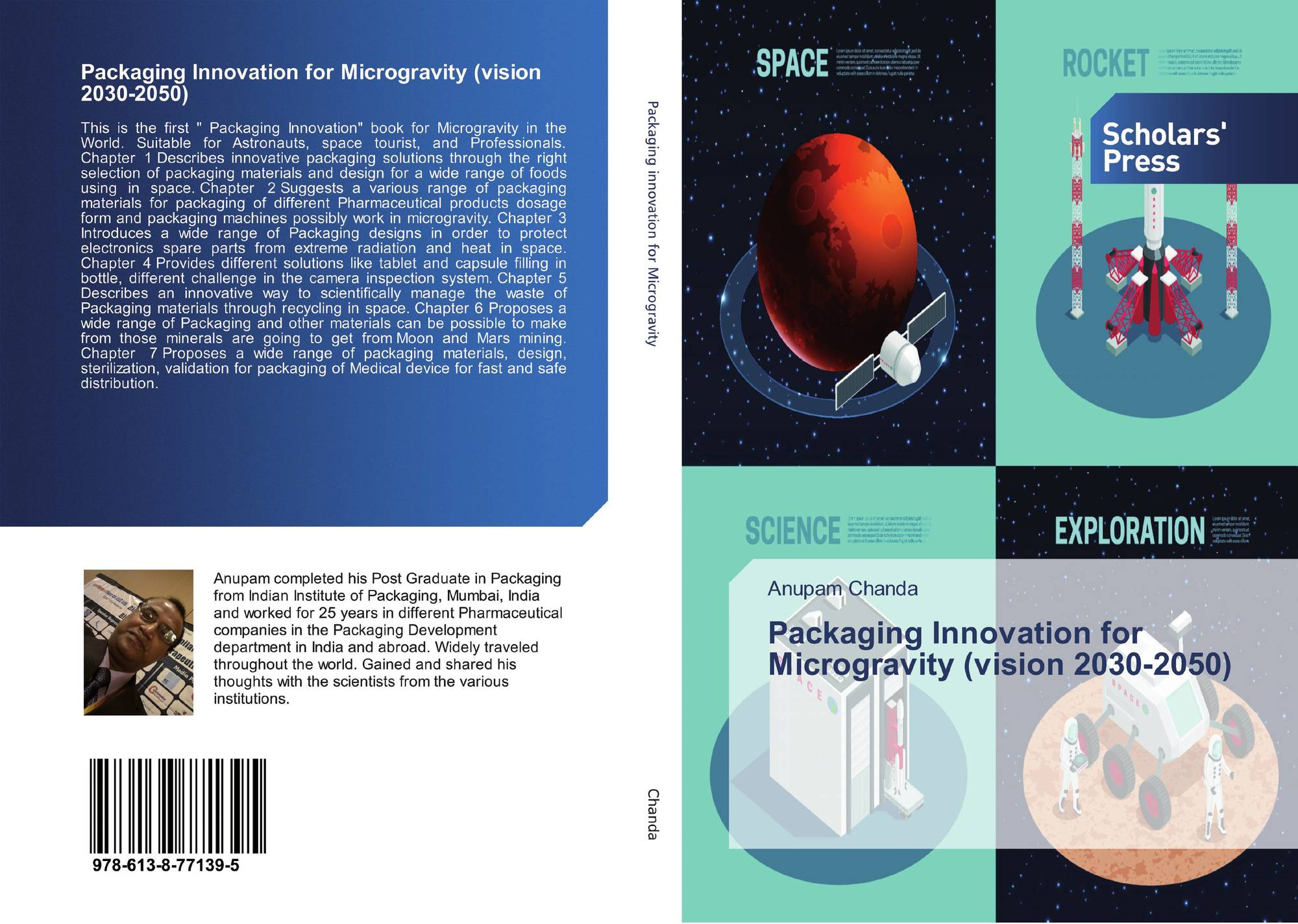 Packaging Innovation for Microgravity (vision 2030-2050), 978-613-8