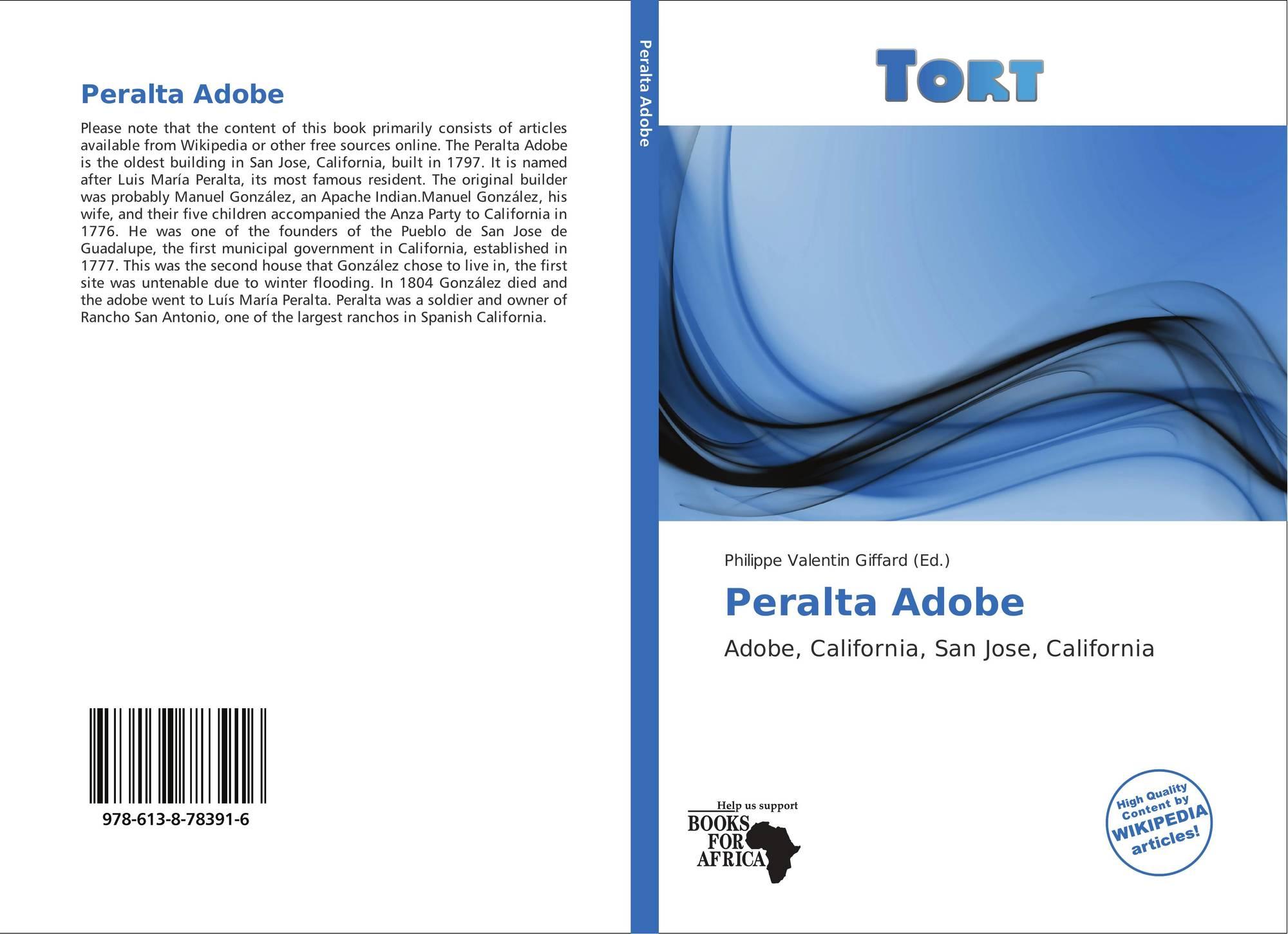 Peralta Adobe 978 613 8 78391 6 6138783913 9786138783916