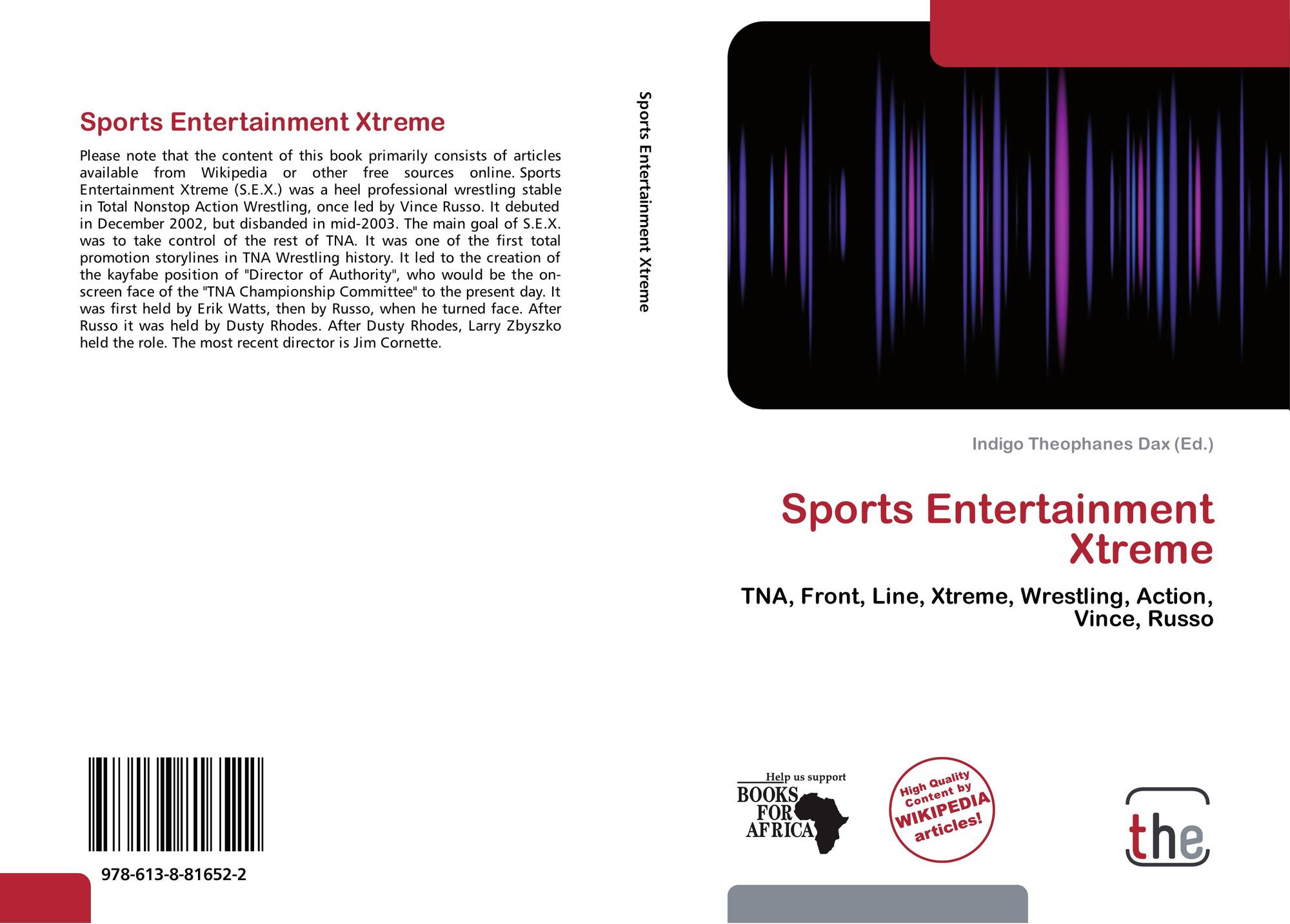 Sports Entertainment Xtreme 978 613 8 81652 2 6138816528