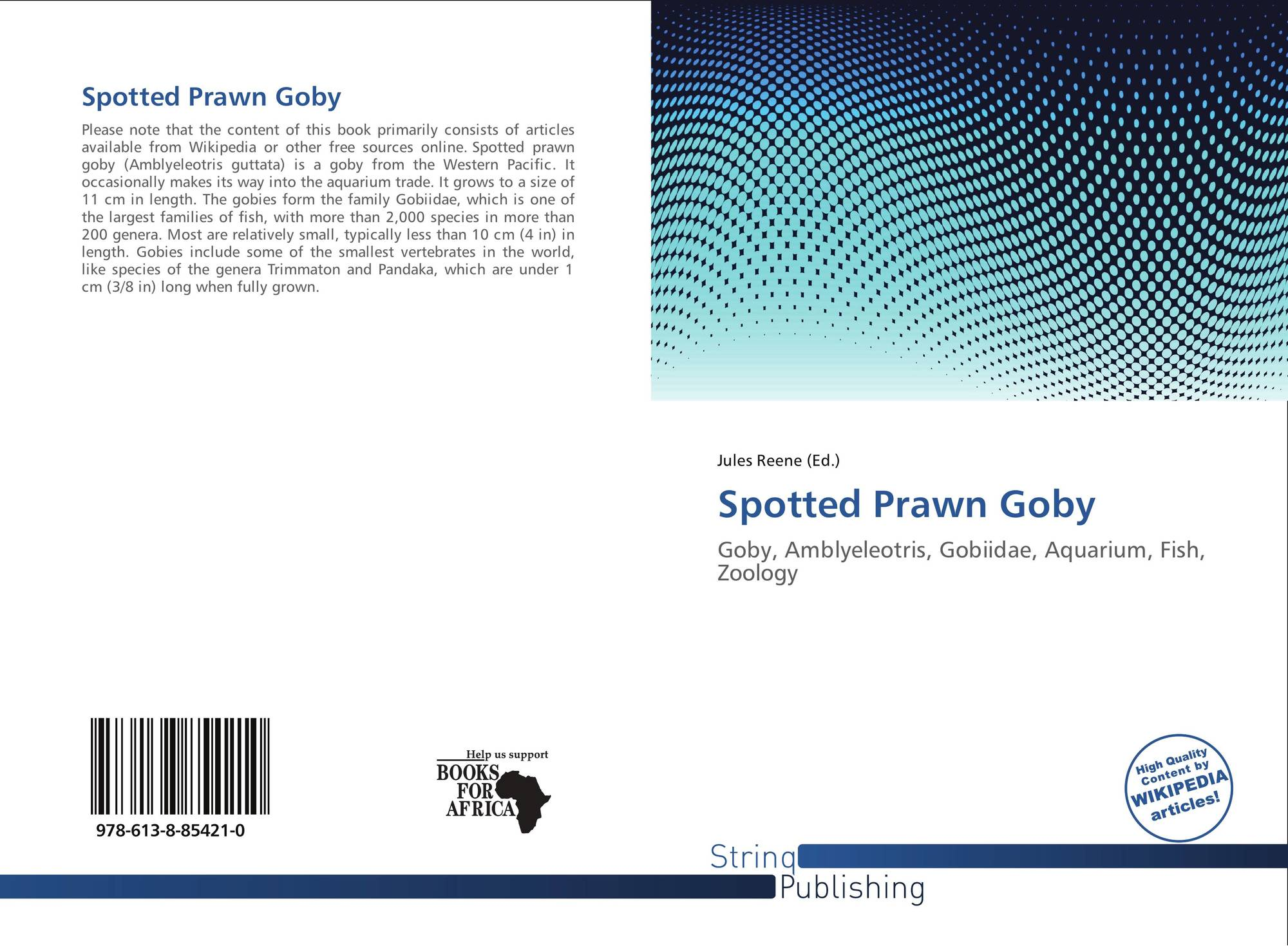 Freshwater aquarium fish gobiidae - Bookcover Of Spotted Prawn Goby