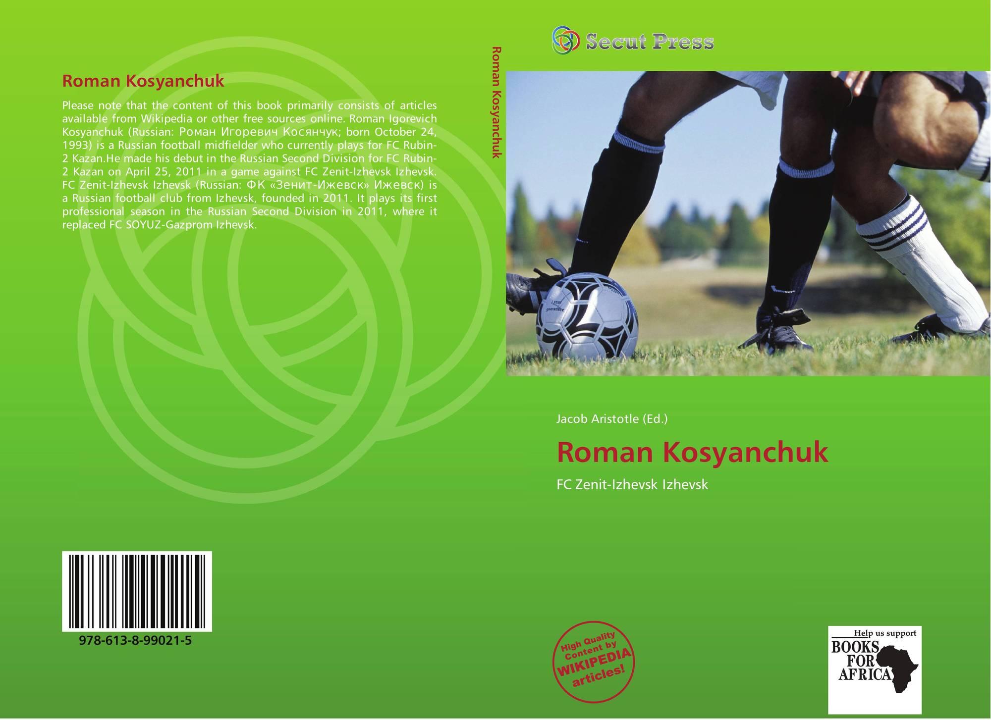 Roman Kosyanchuk 978 613 8 99021 5 6138990218 9786138990215
