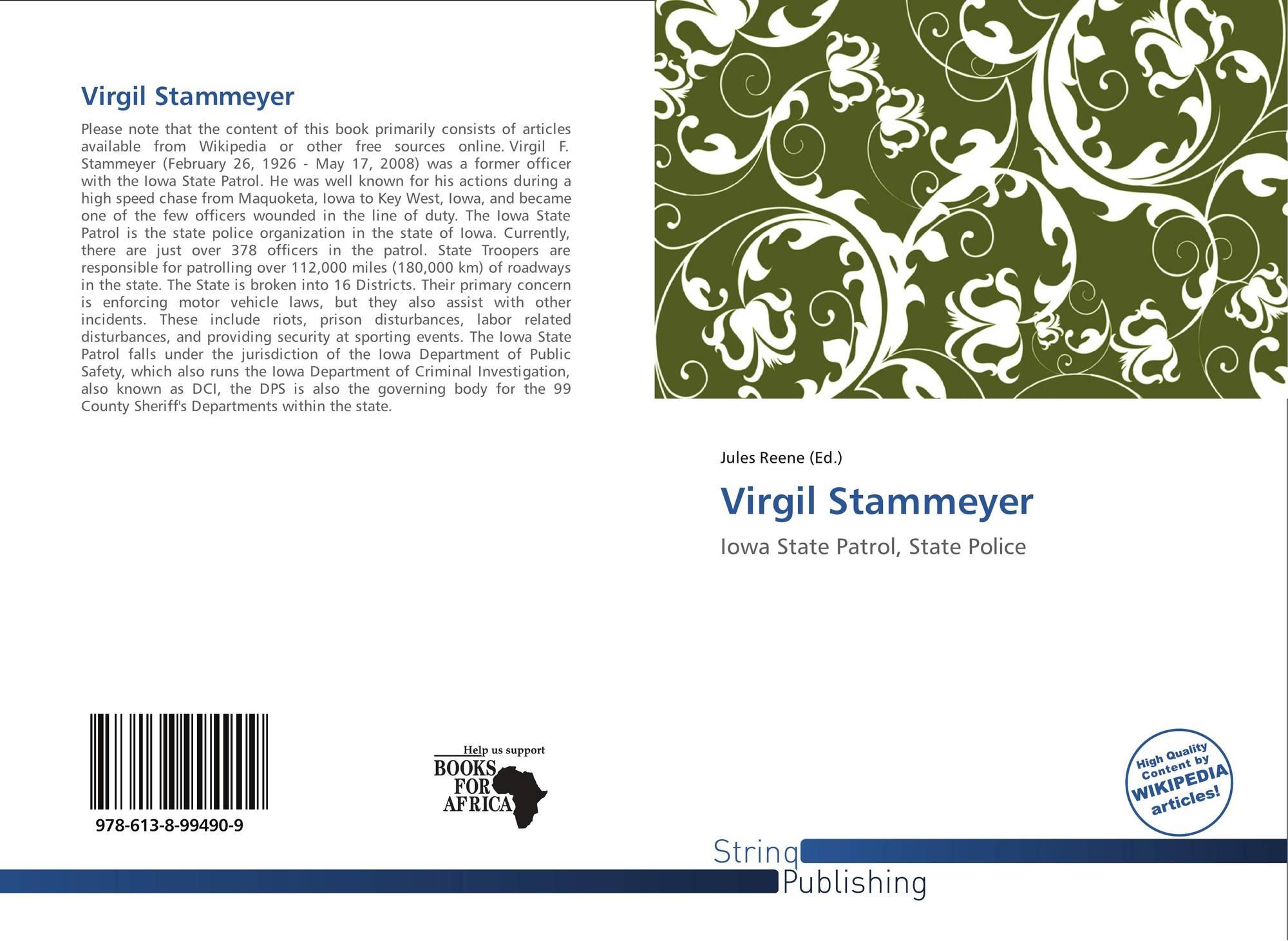 Virgil stammeyer 978 613 8 99490 9 6138994906 9786138994909 for 99490