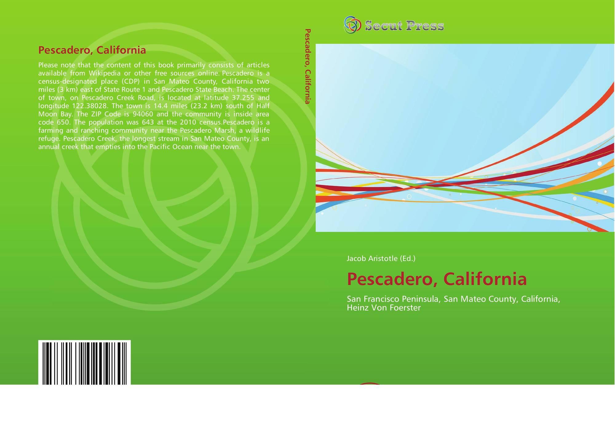 California san mateo county pescadero - Bookcover Of Pescadero California