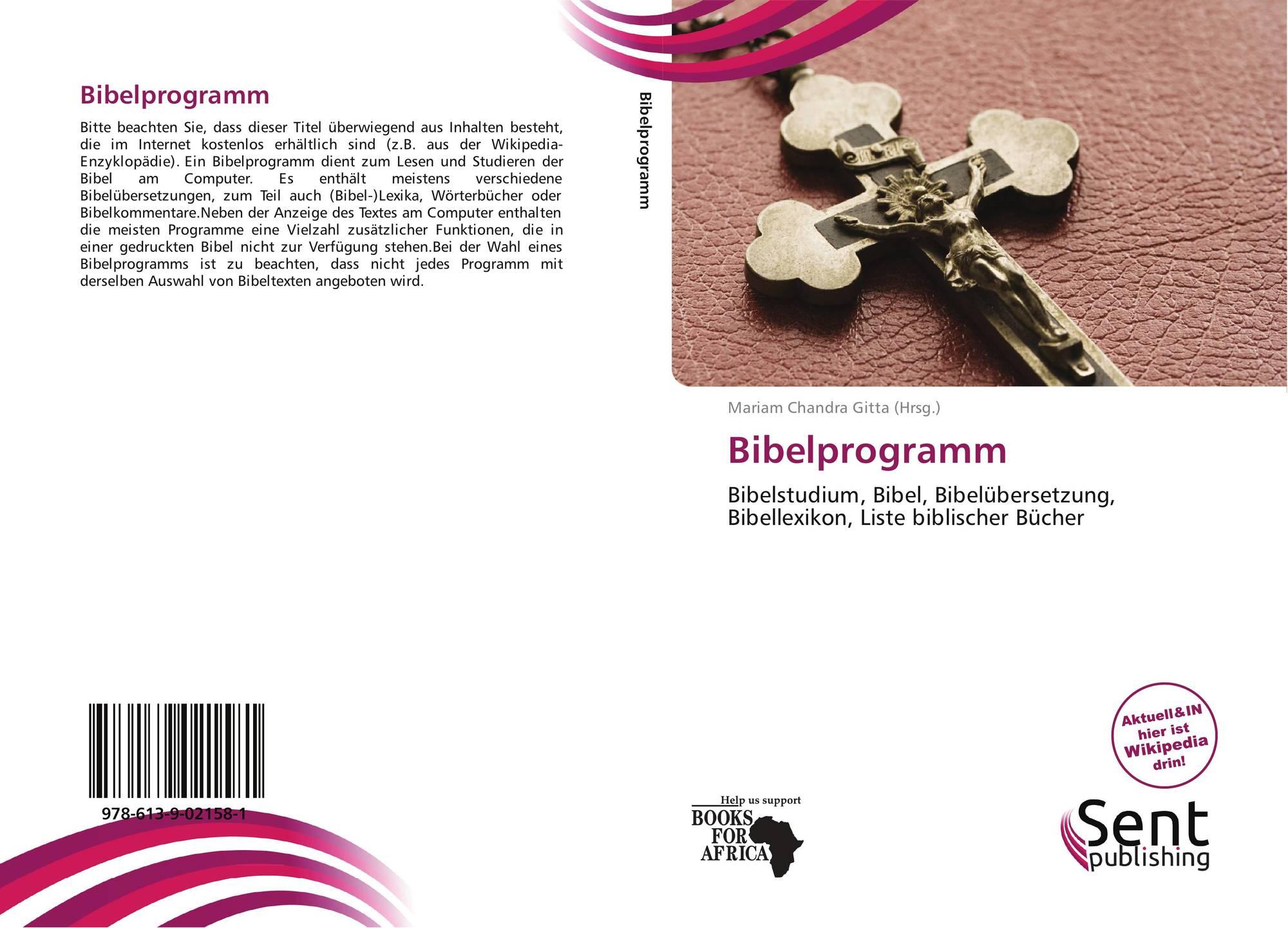 Bibelprogramm, 978-613-9-02158-1, 6139021588 ,9786139021581