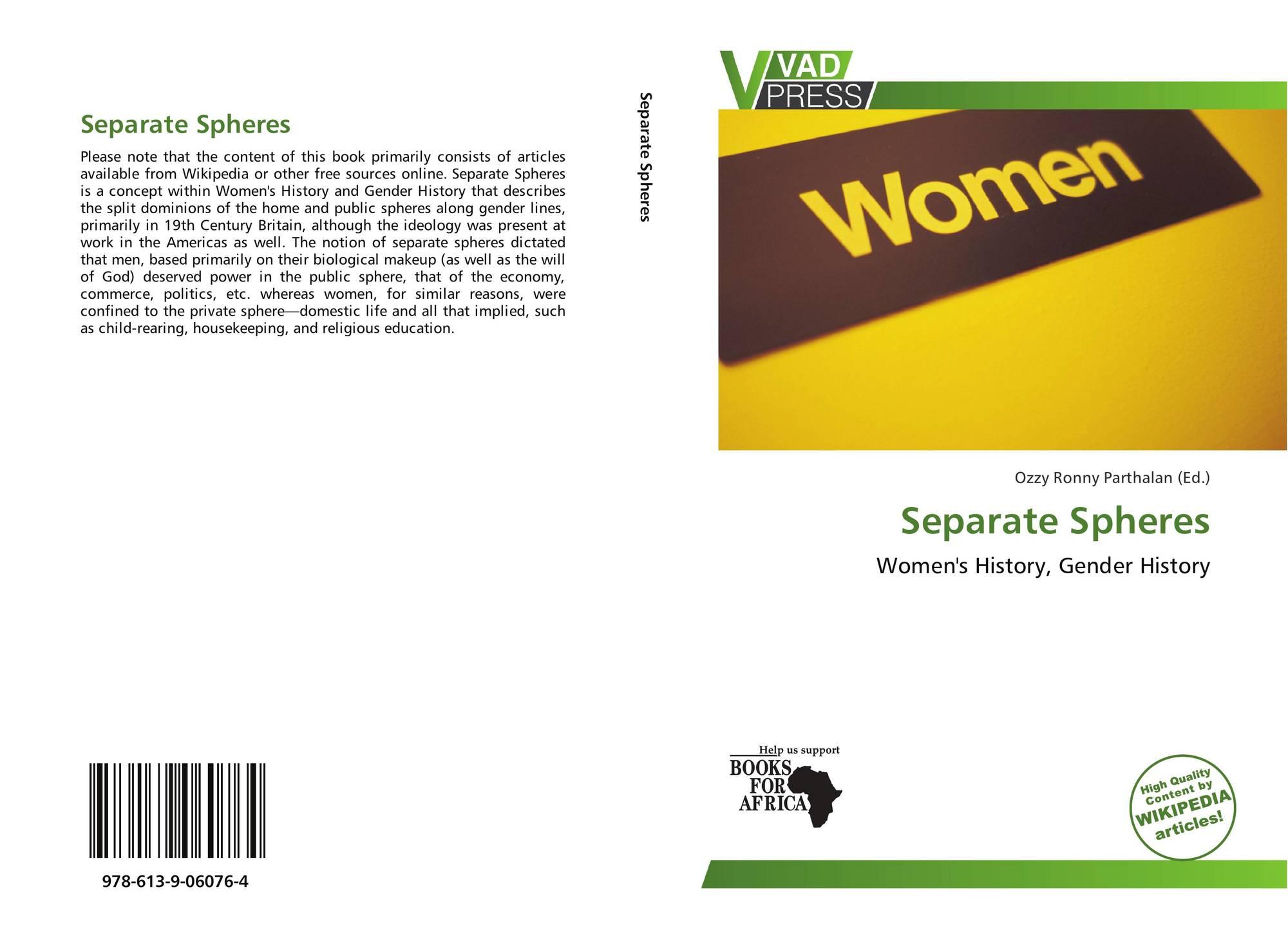 separate spheres and women s status