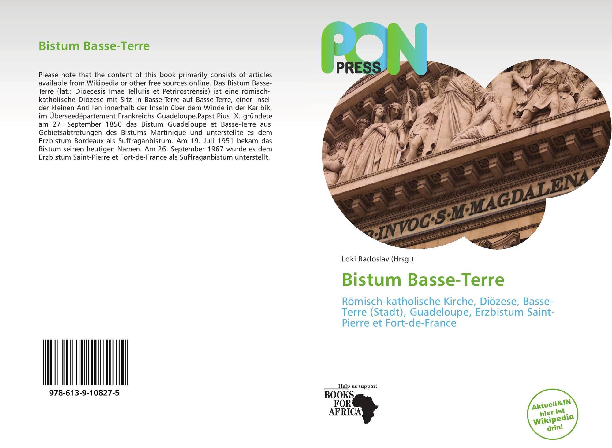 bistum basse terre 978 613 9 10827 5 6139108276 9786139108275. Black Bedroom Furniture Sets. Home Design Ideas