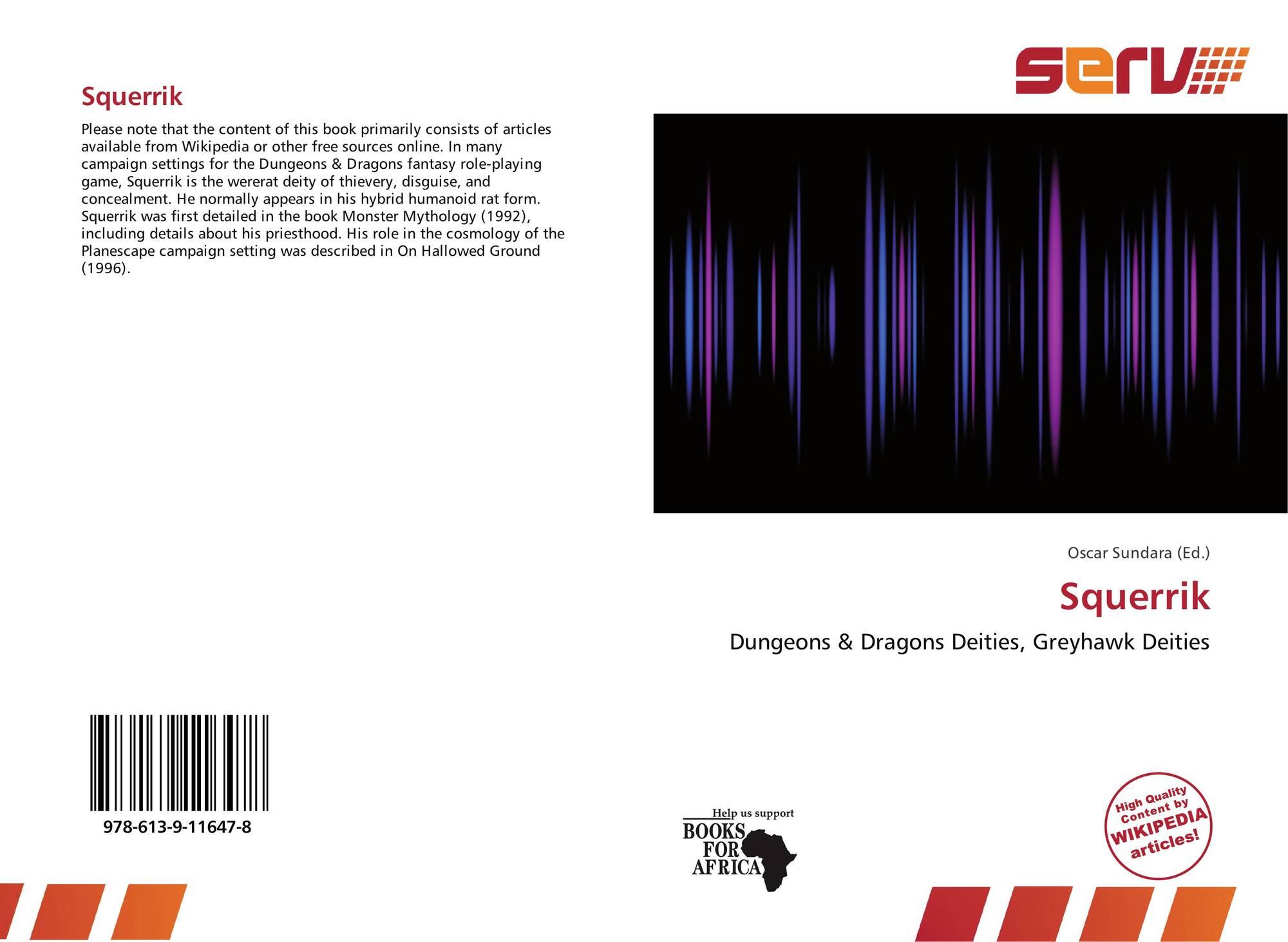 Squerrik, 978-613-9-11647-8, 6139116473 ,9786139116478