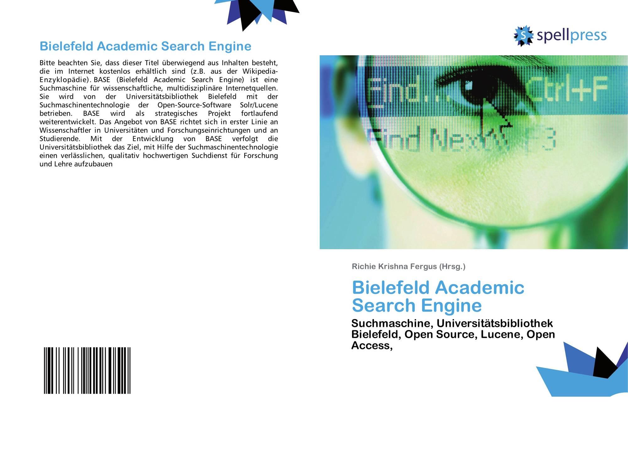 Bielefeld Academic Search Engine (BASE) - Intro - YouTube