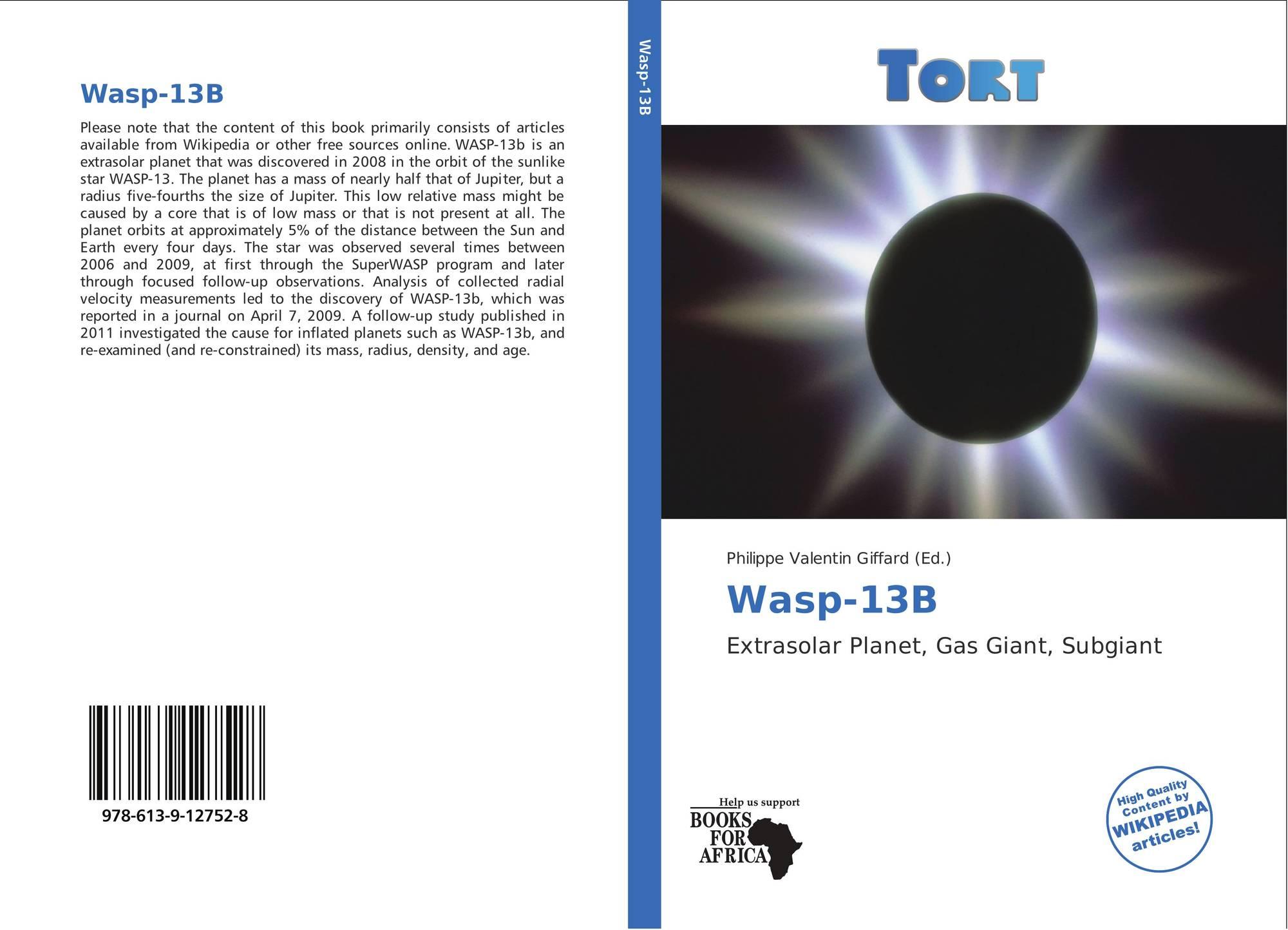 Wasp-13B, 978-613-9-12752-8, 6...