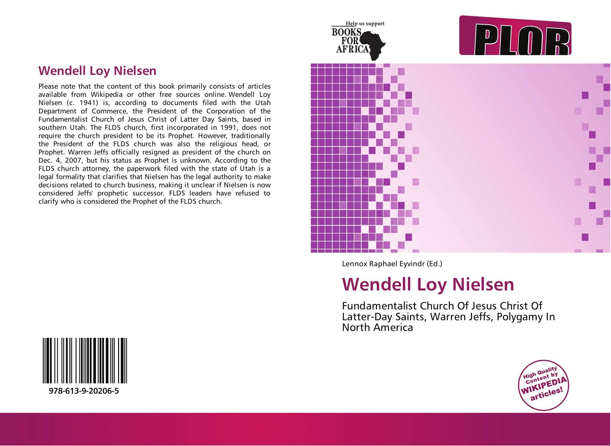 Wendell Loy Nielsen