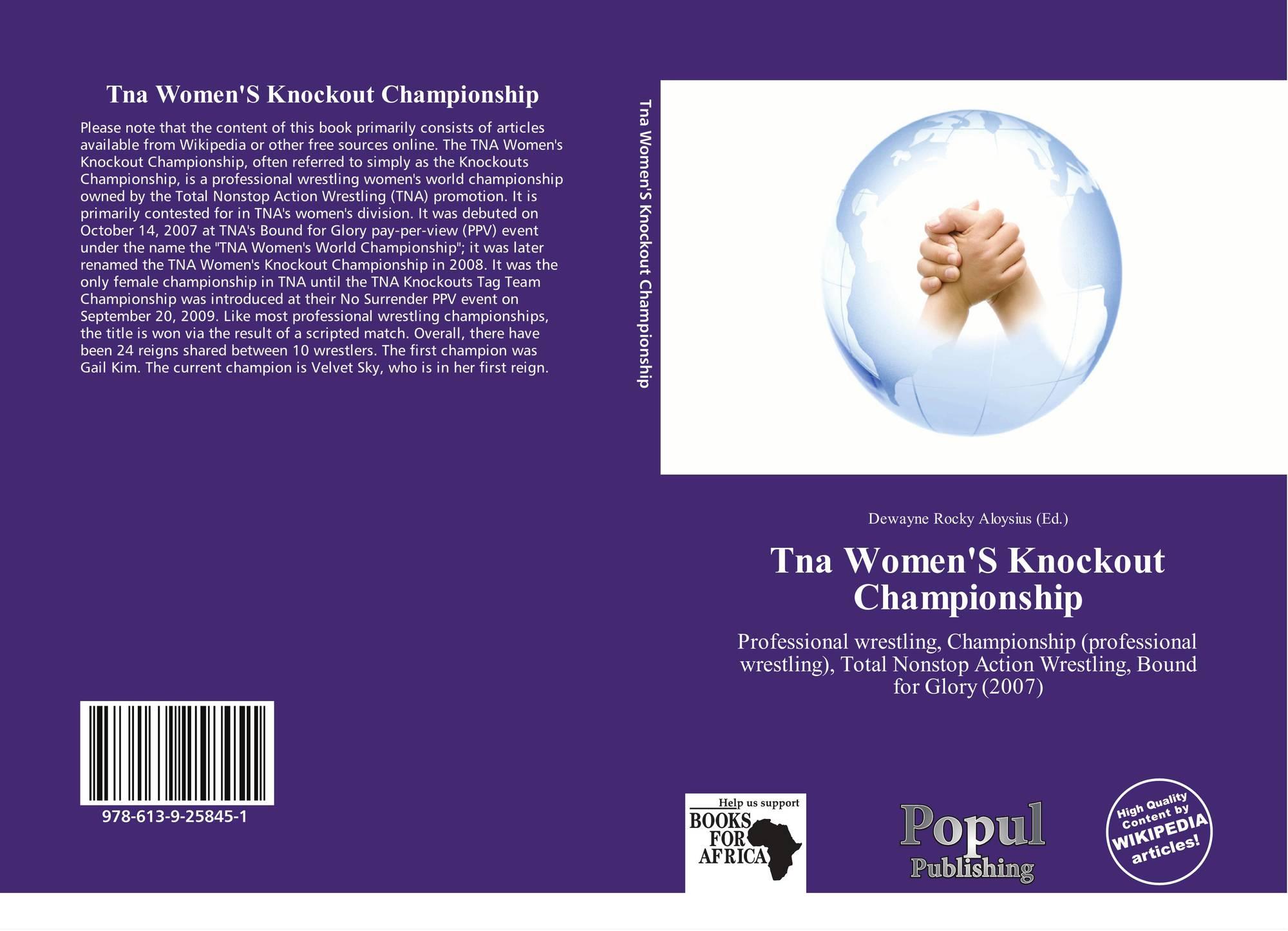 Tna Women'S Knockout Championship, 978-613-9-25845-1
