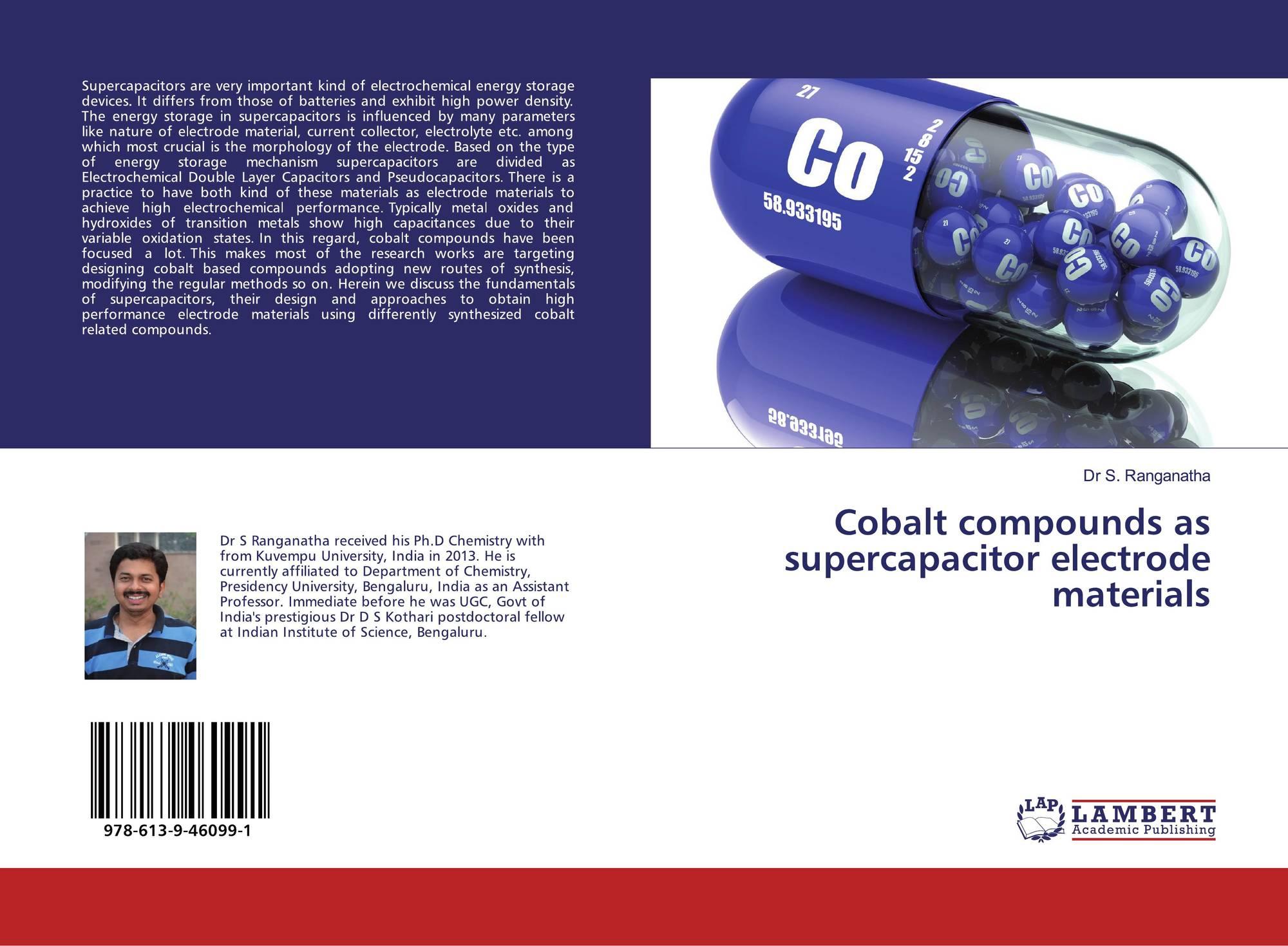 Cobalt compounds as supercapacitor electrode materials, 978