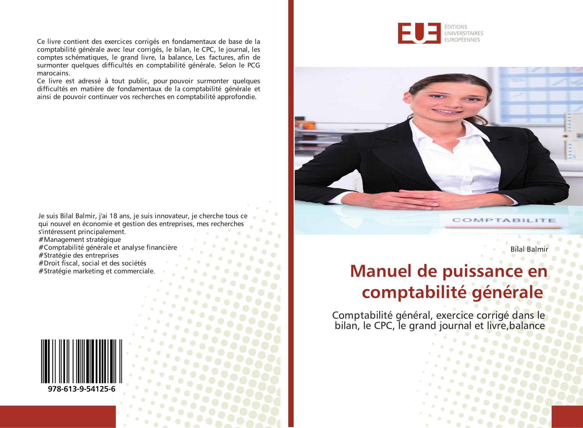 Manuel De Puissance En Comptabilite Generale 978 613 9 54125 6 6139541255 9786139541256 De Bilal Balmir
