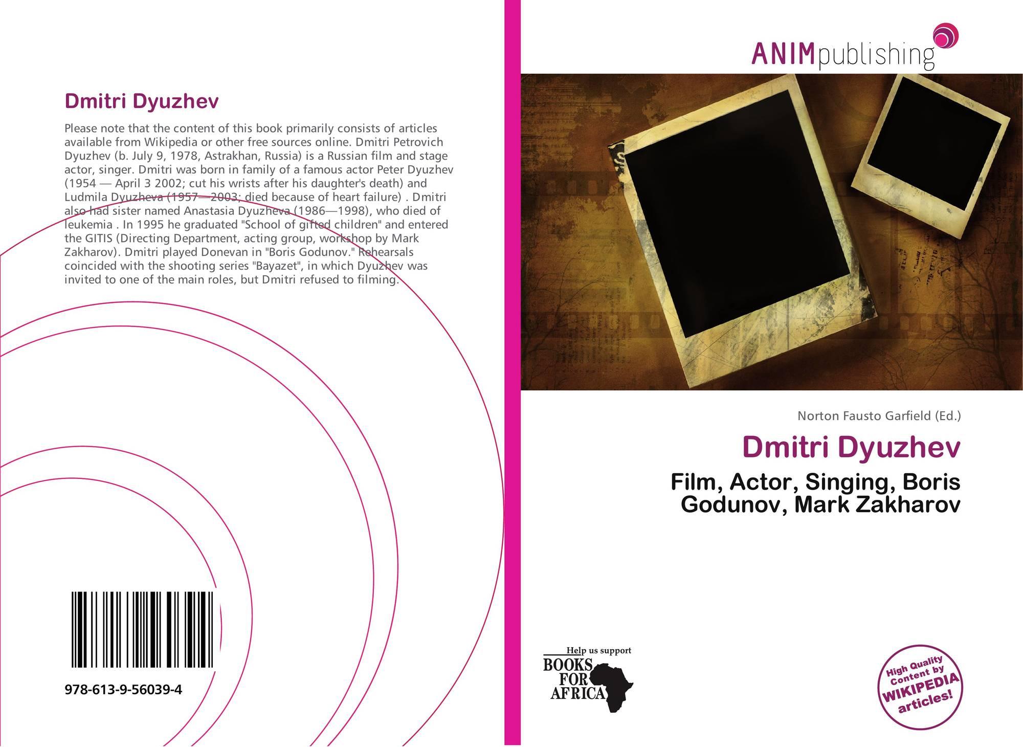 Dmitri Dyuzhev, 978-613-9-56039-4, 613956039X ,9786139560394