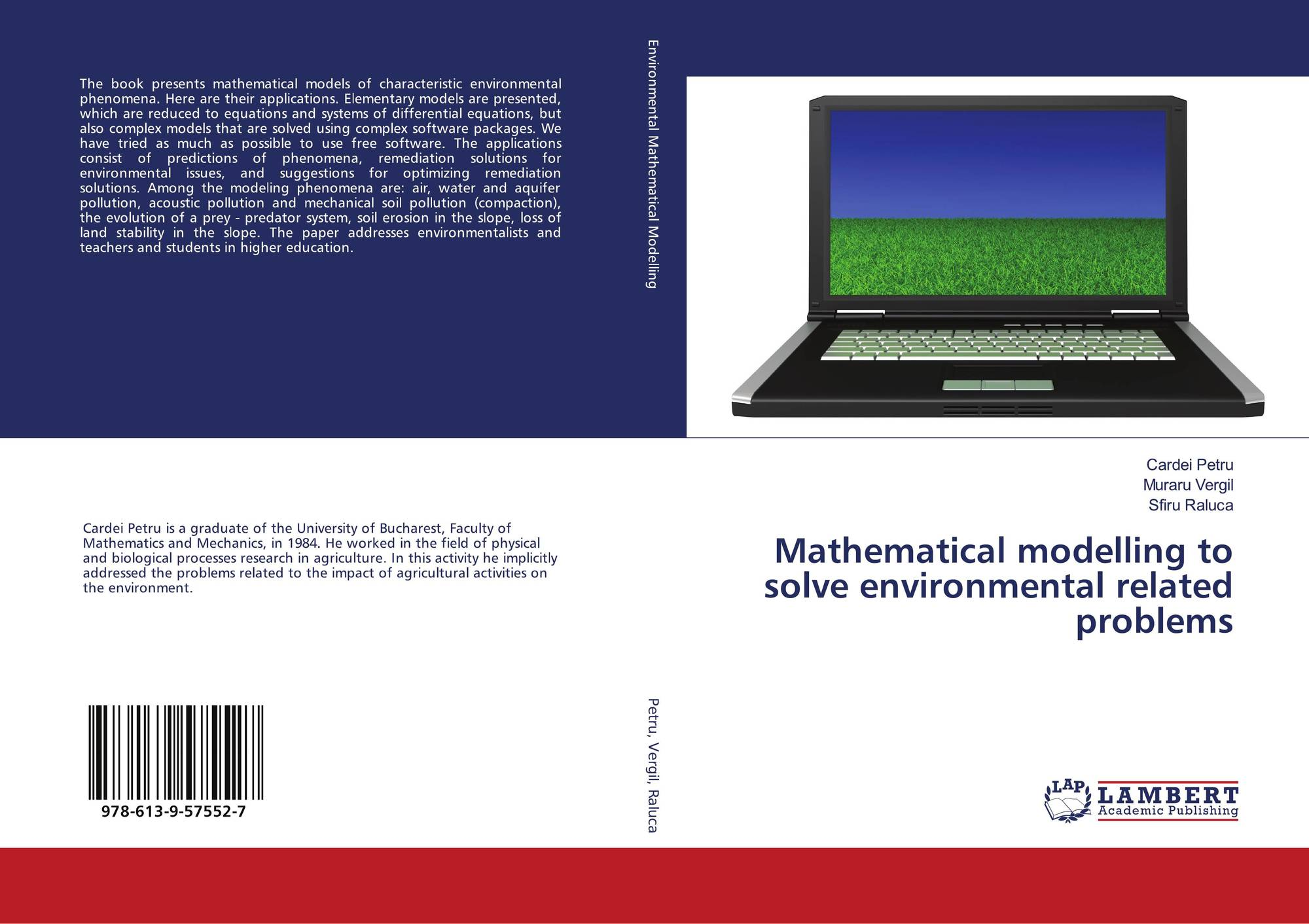 Mathematical modelling to solve environmental related