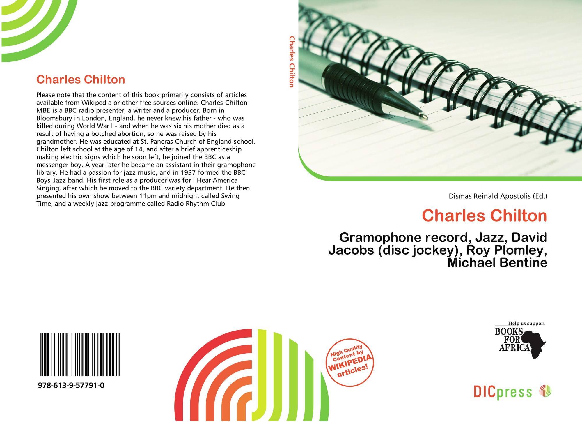 michael chilton books