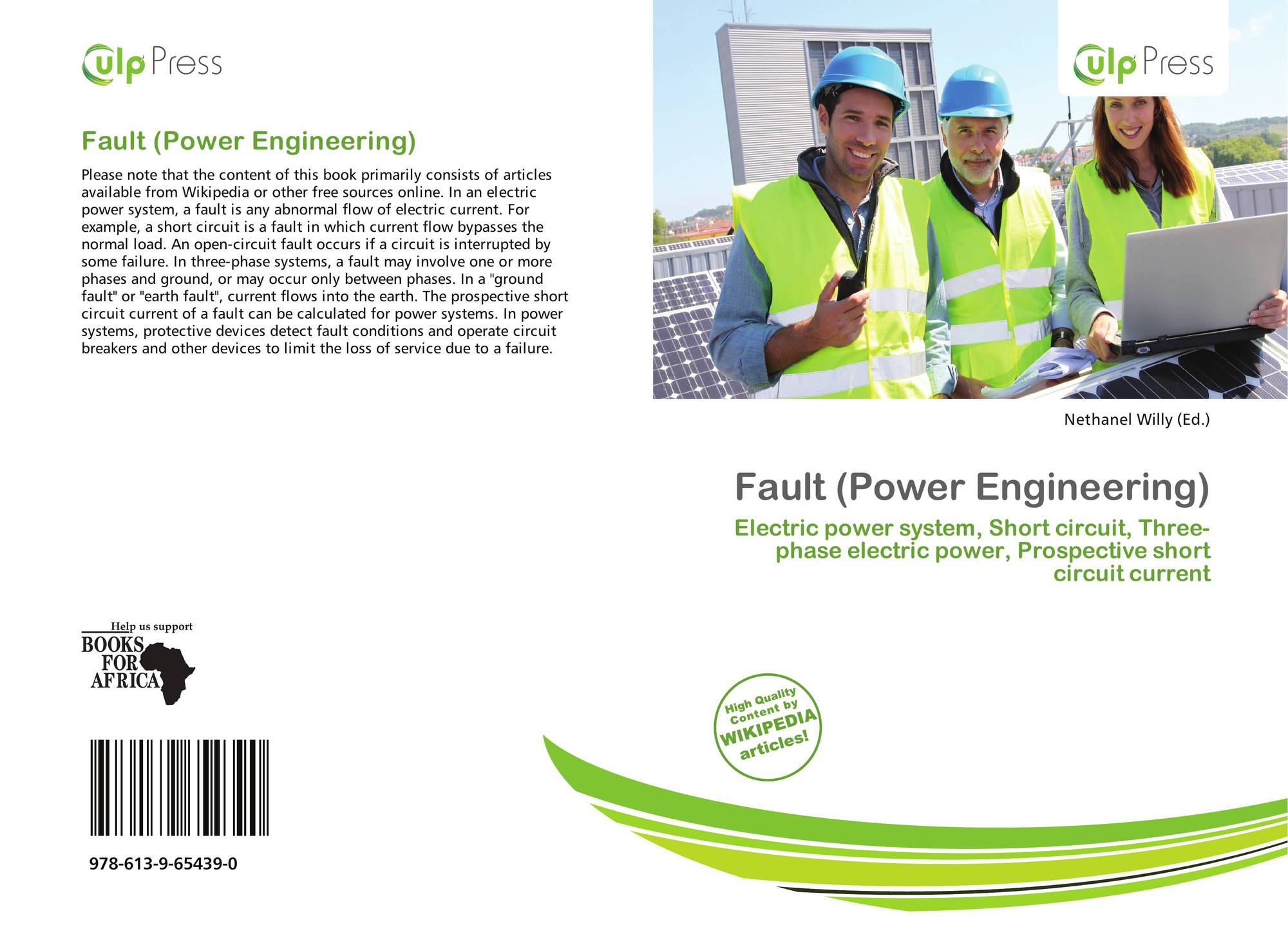 Fault (Power Engineering), 978-613-9-65439-0, 6139654394 ,9786139654390