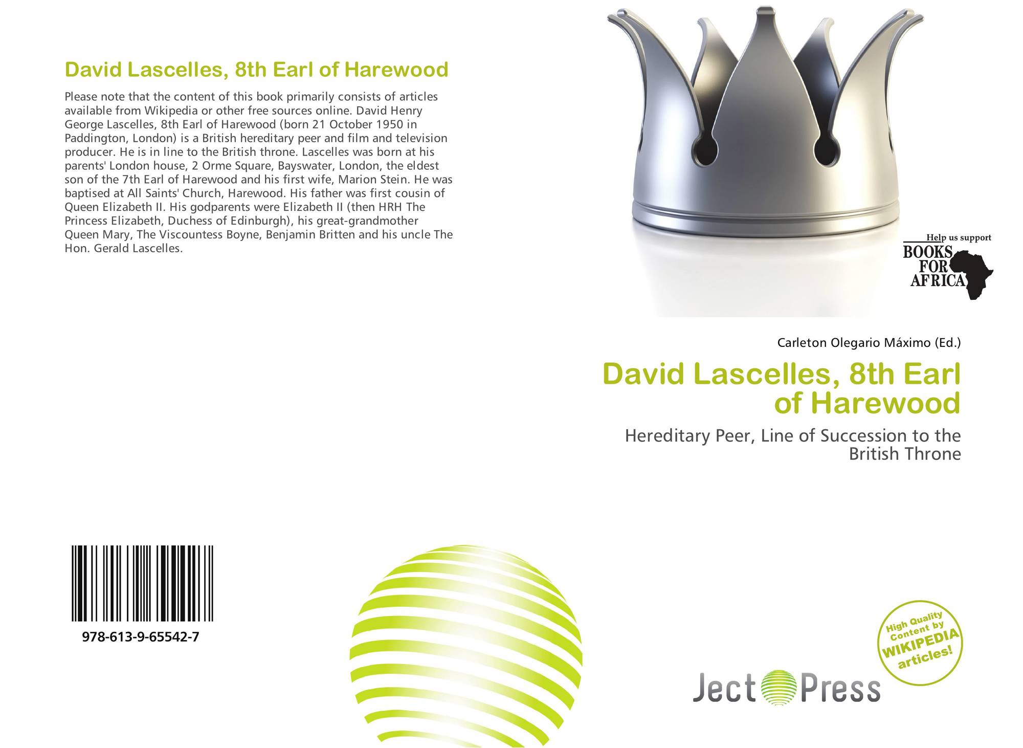 search results for succession to the british throne bookcover of david lascelles 8th earl of harewood
