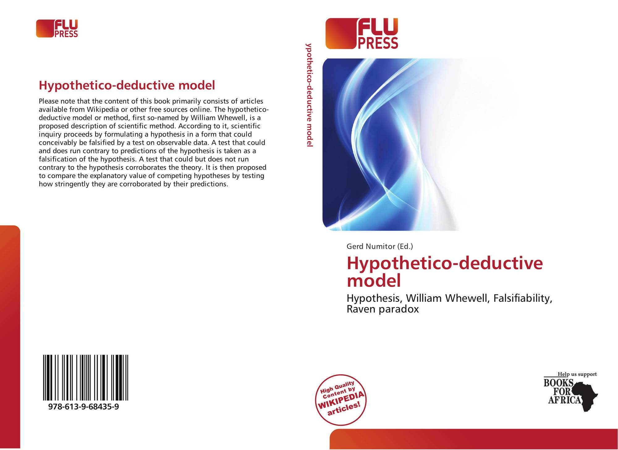 hypothetico deductive modeling to q a Methods of personality assessment  inductive-hypothetico-deductive factor-analytic method used to identify items that were  modeling (sem) implemented.