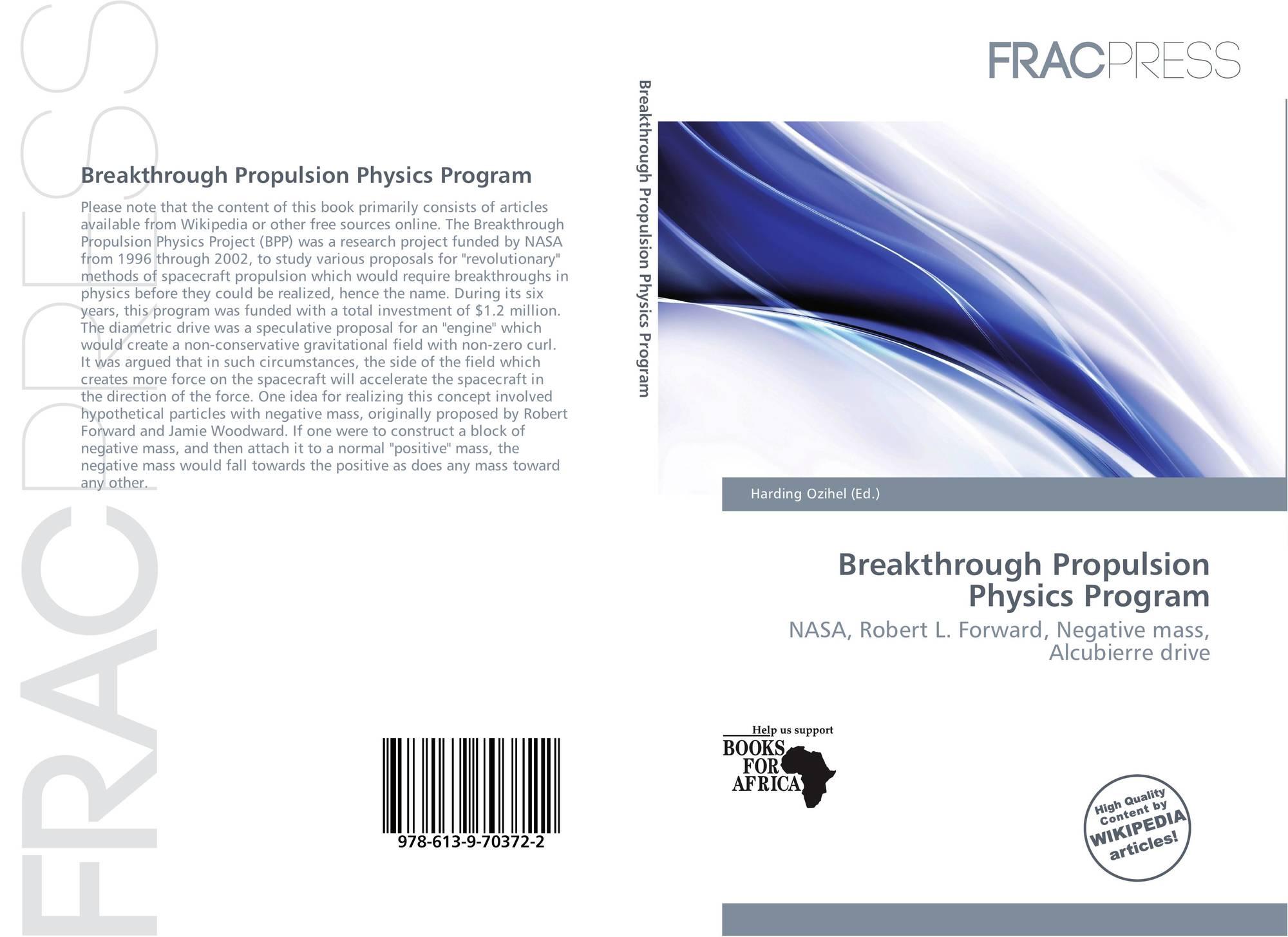 nasa breakthrough propulsion physics program - photo #6