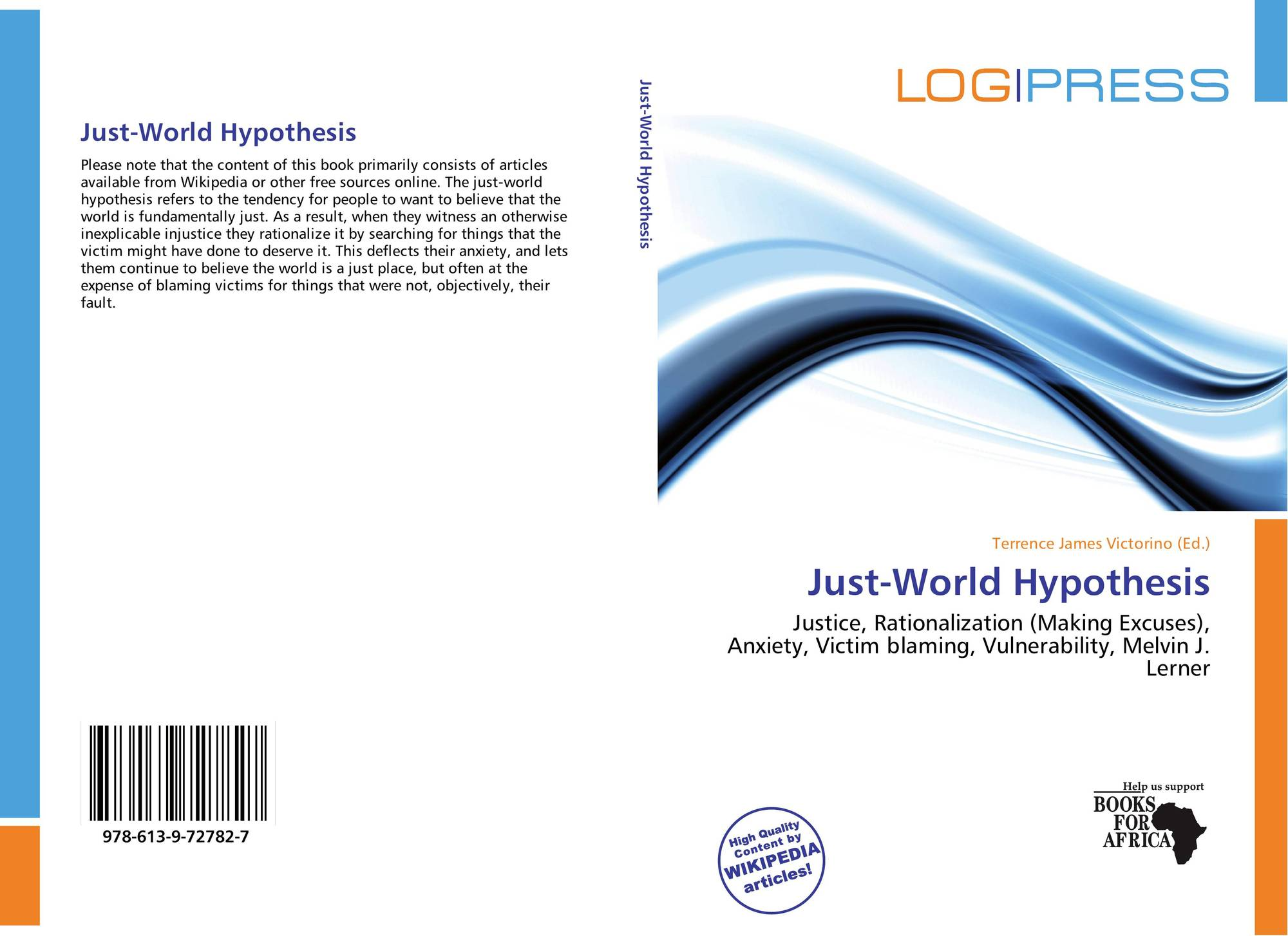 world hypthesis This hypothesis was the work of pre-world war ii german and austrian researchers and came of age in the us in the 1950s.