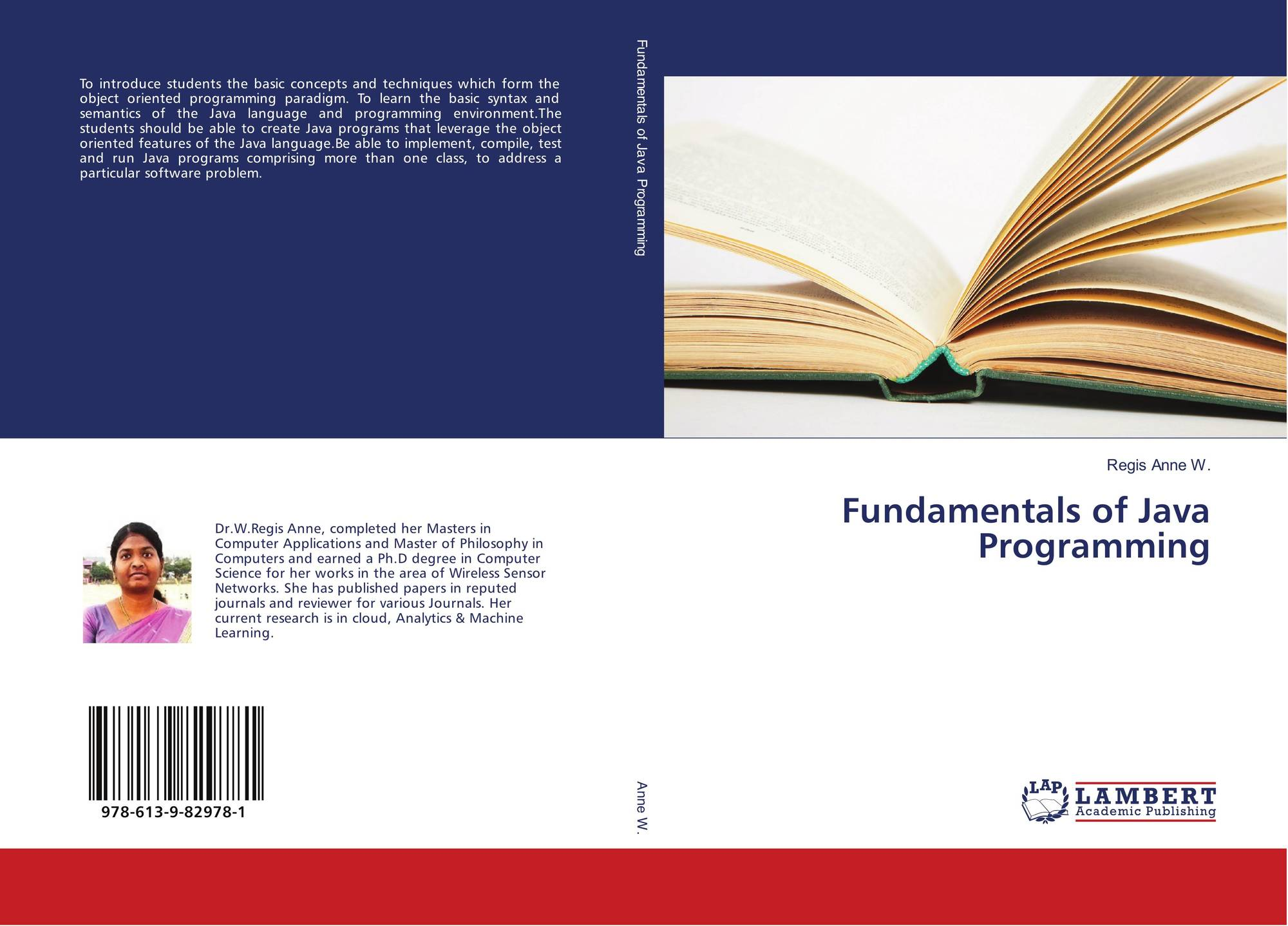 Fundamentals of Java Programming, 978-613-9-82978-1, 613982978X